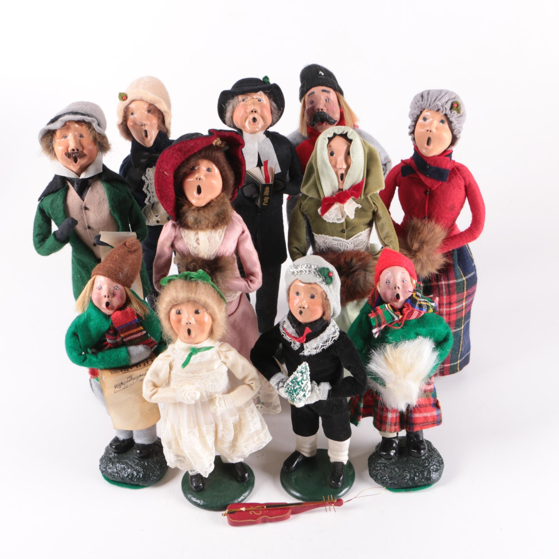 """Byers' Choice """"The Carolers"""""""