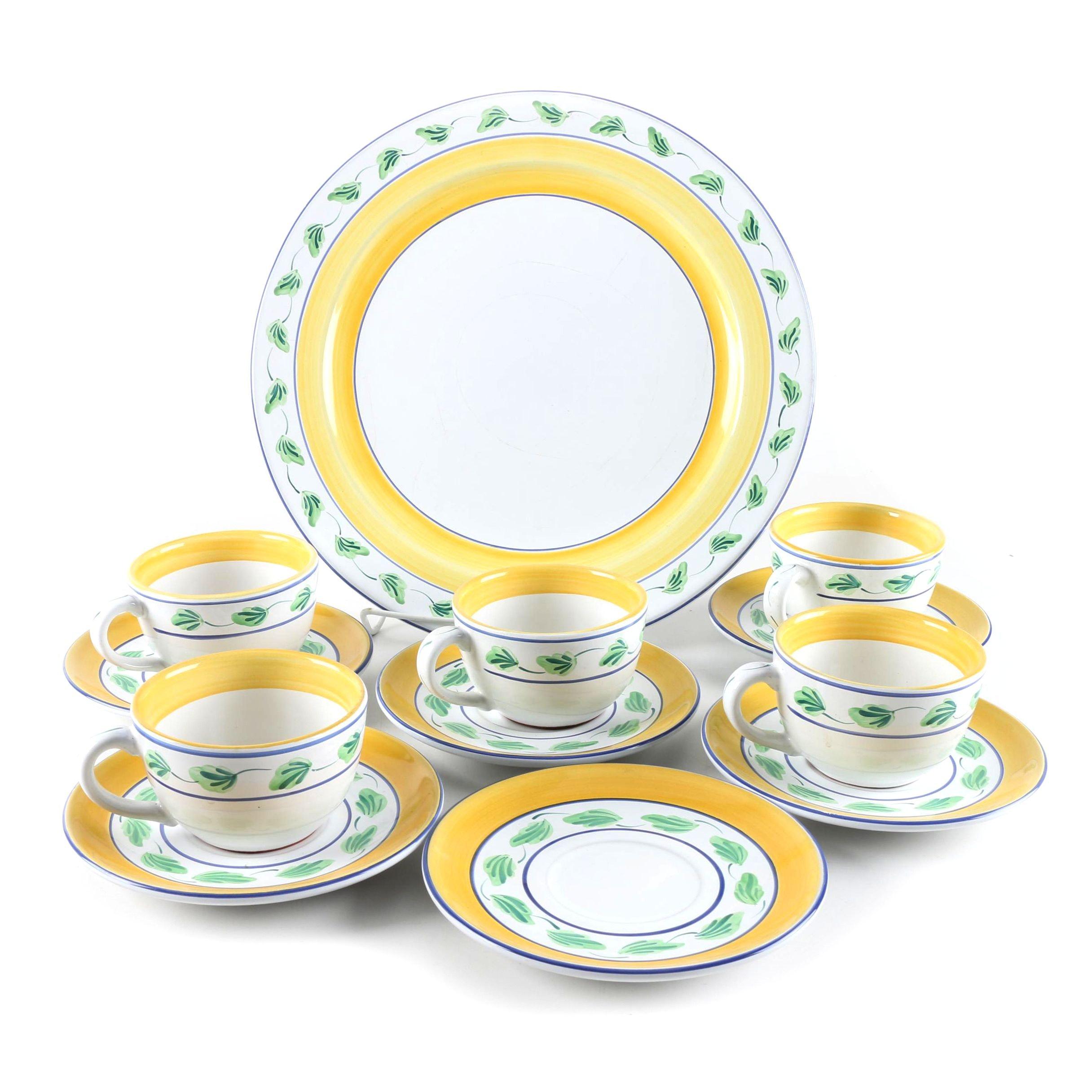 "Herend Village ""Crispin"" Ceramic Tableware"