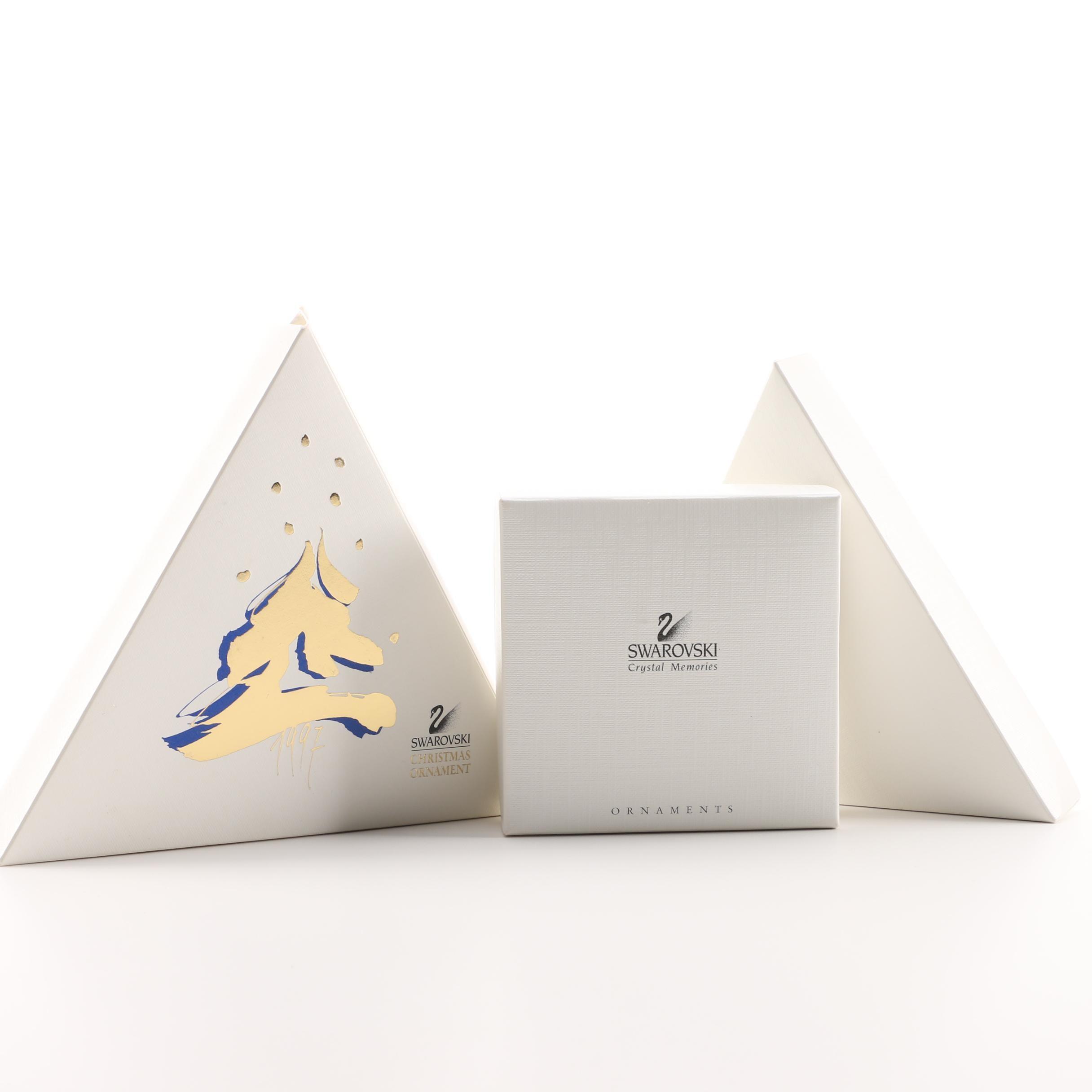 Swarovski Crystal Snowflake Ornaments