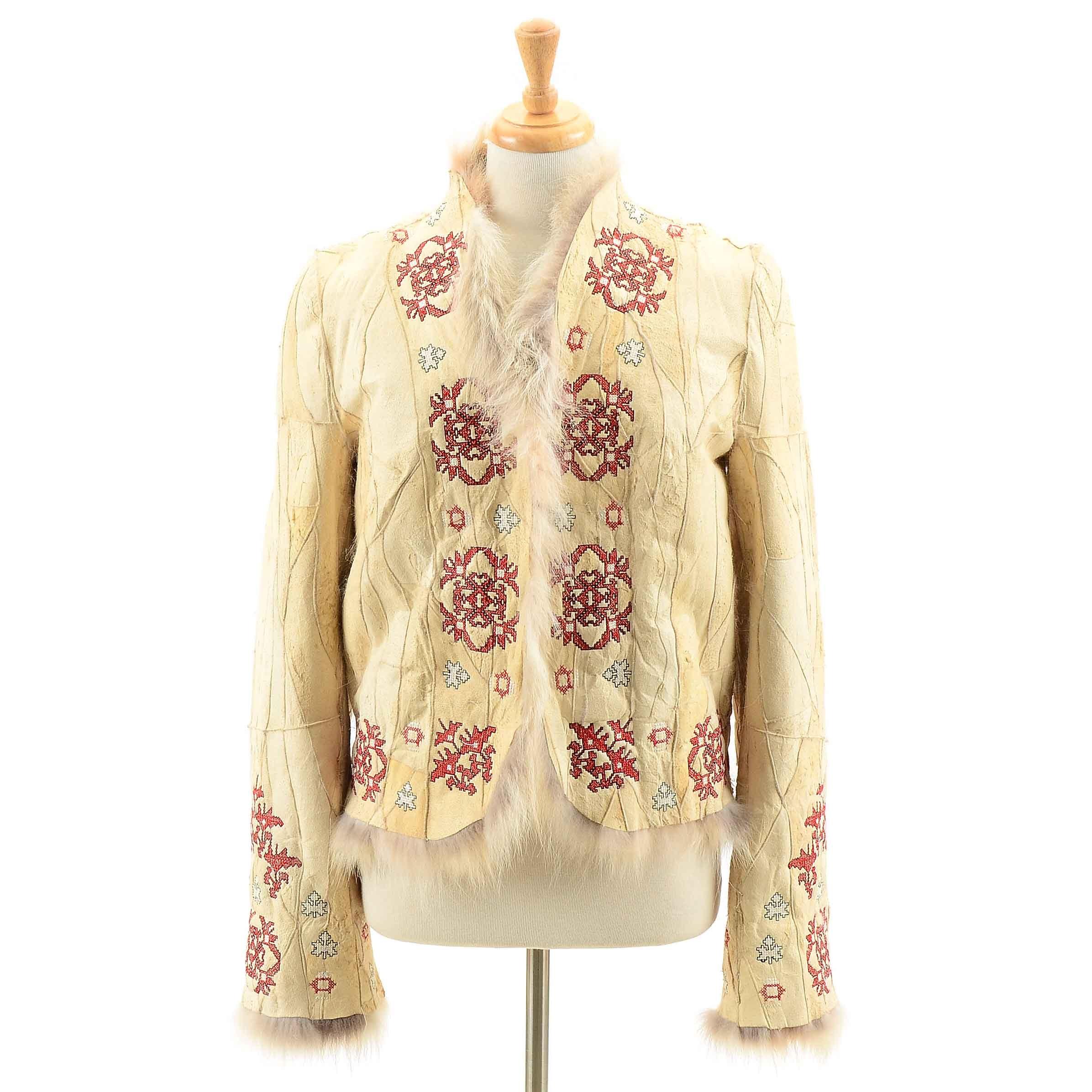 Women's Milona Coyote Fur Jacket
