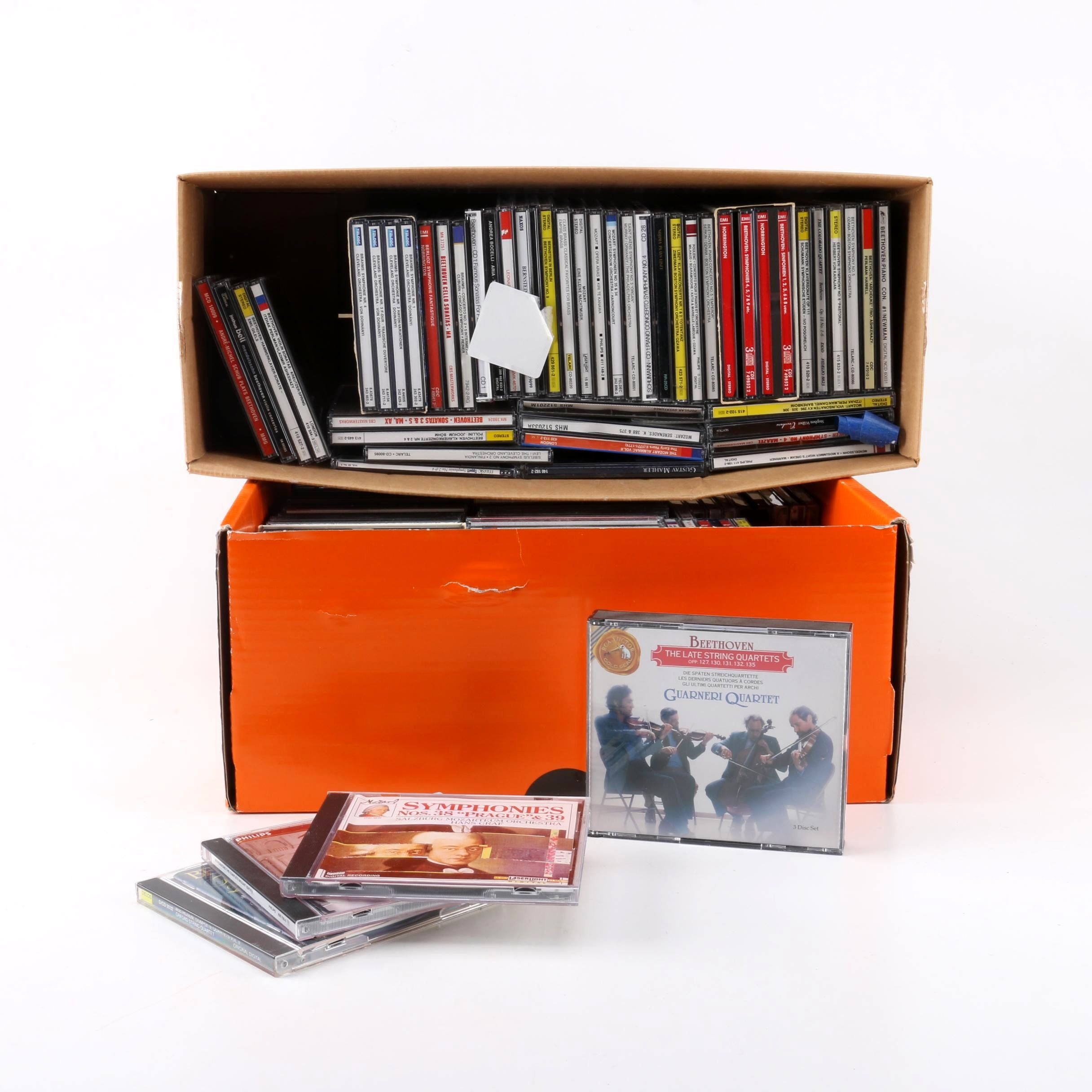 Beethoven, Brahms, Mozart, and Other CDs