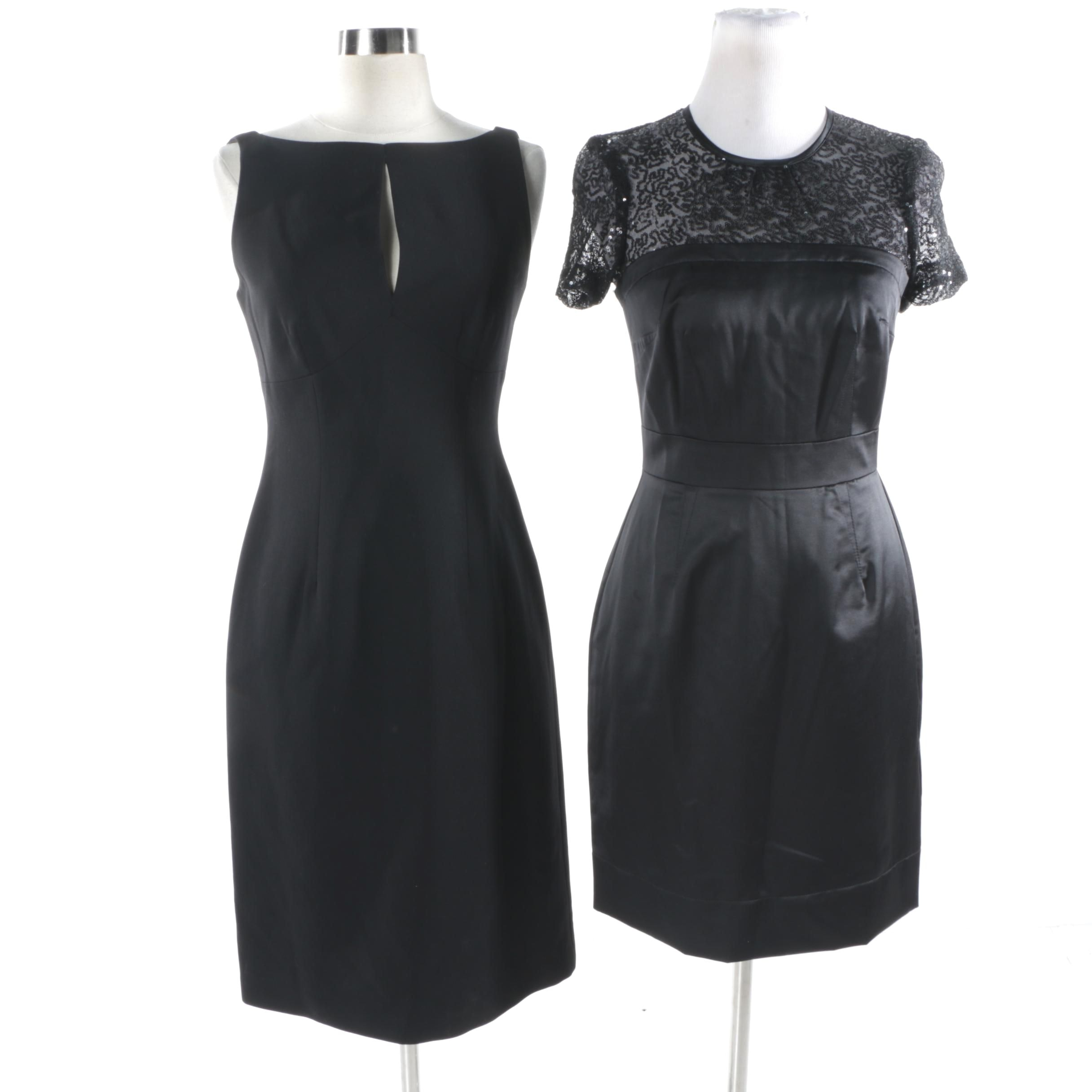 Trina Turk and BCBG Max Azria Essentials Black Cocktail Dresses