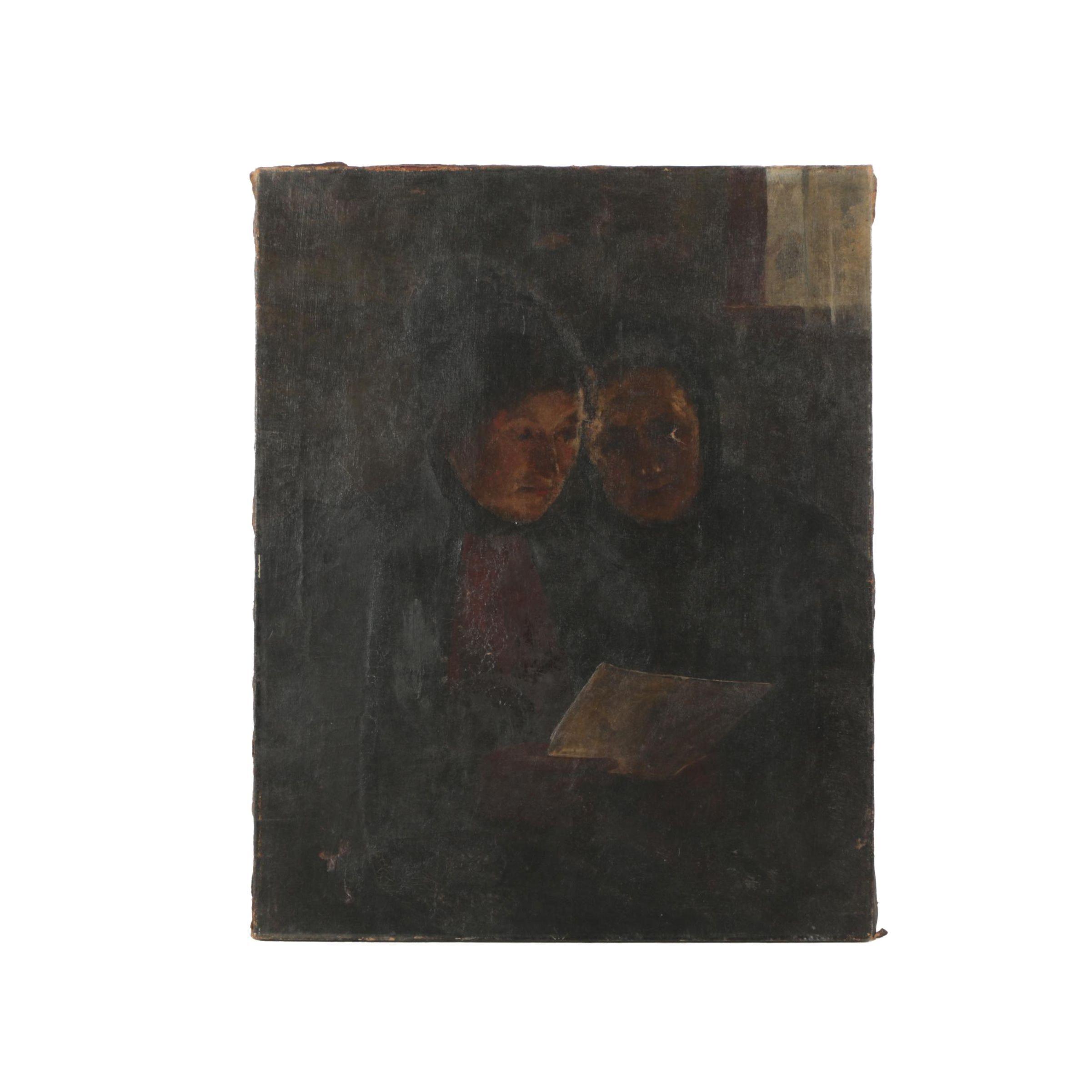 Kubler 19th-Century Oil Painting