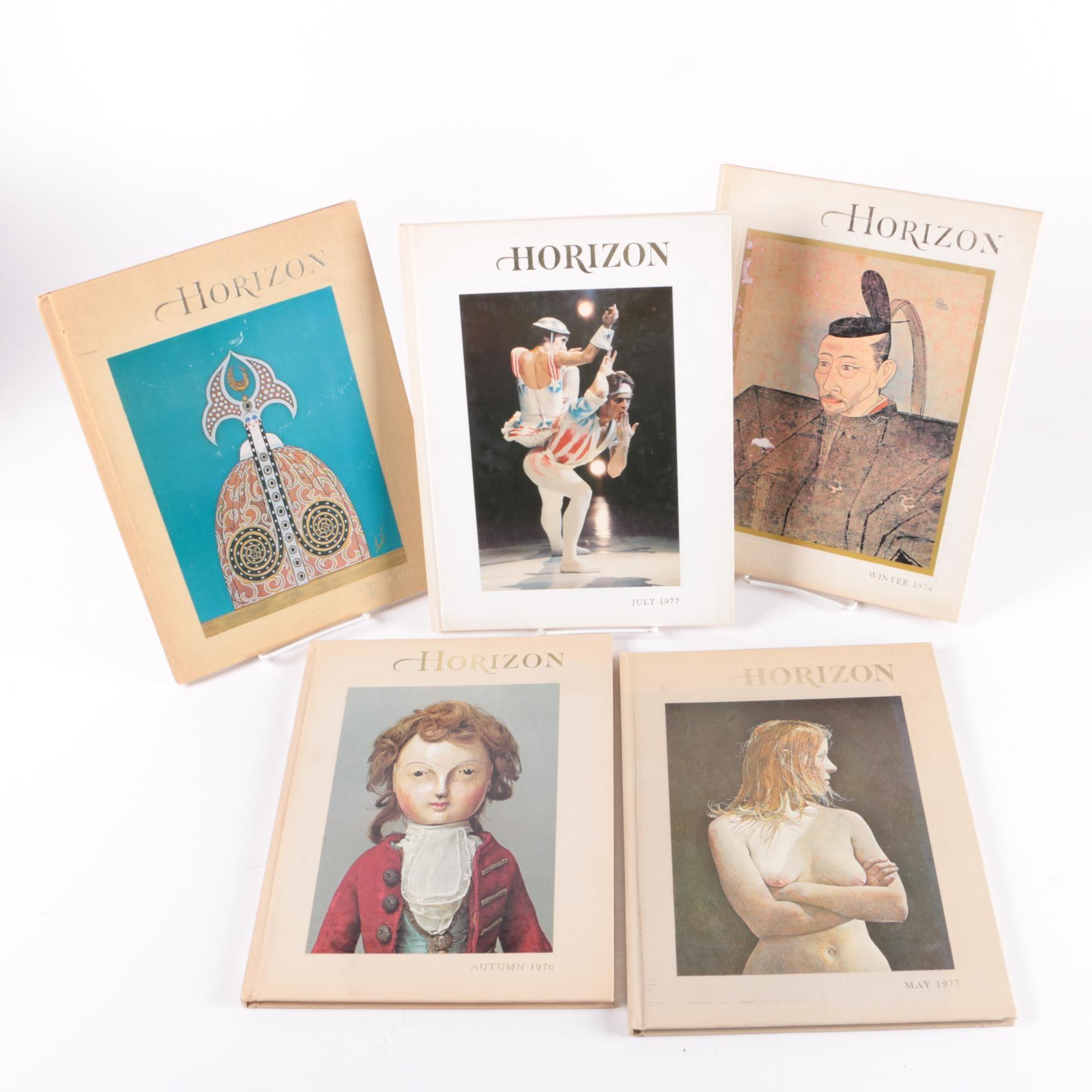 """Issues of """"Horizon"""" Magazine"""