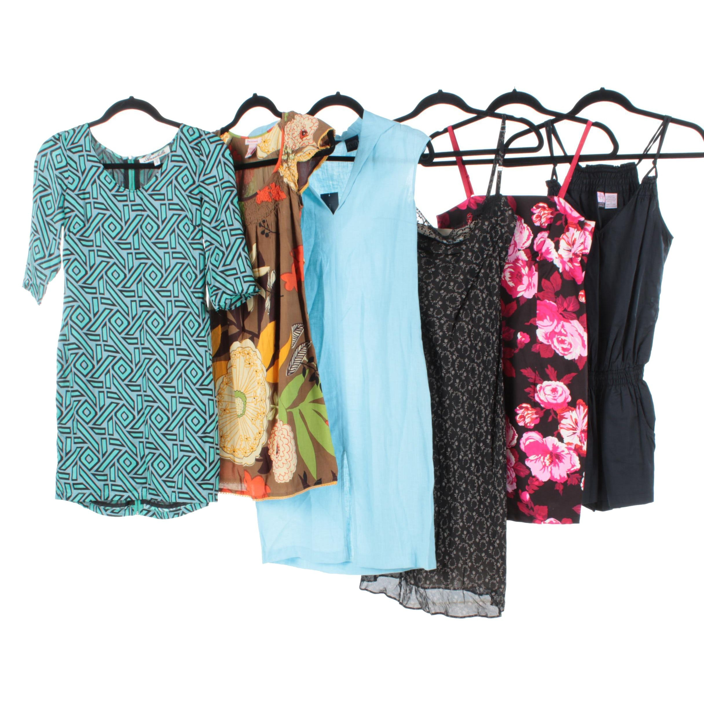 Women's Casual Summer Dresses and Romper Including Caché