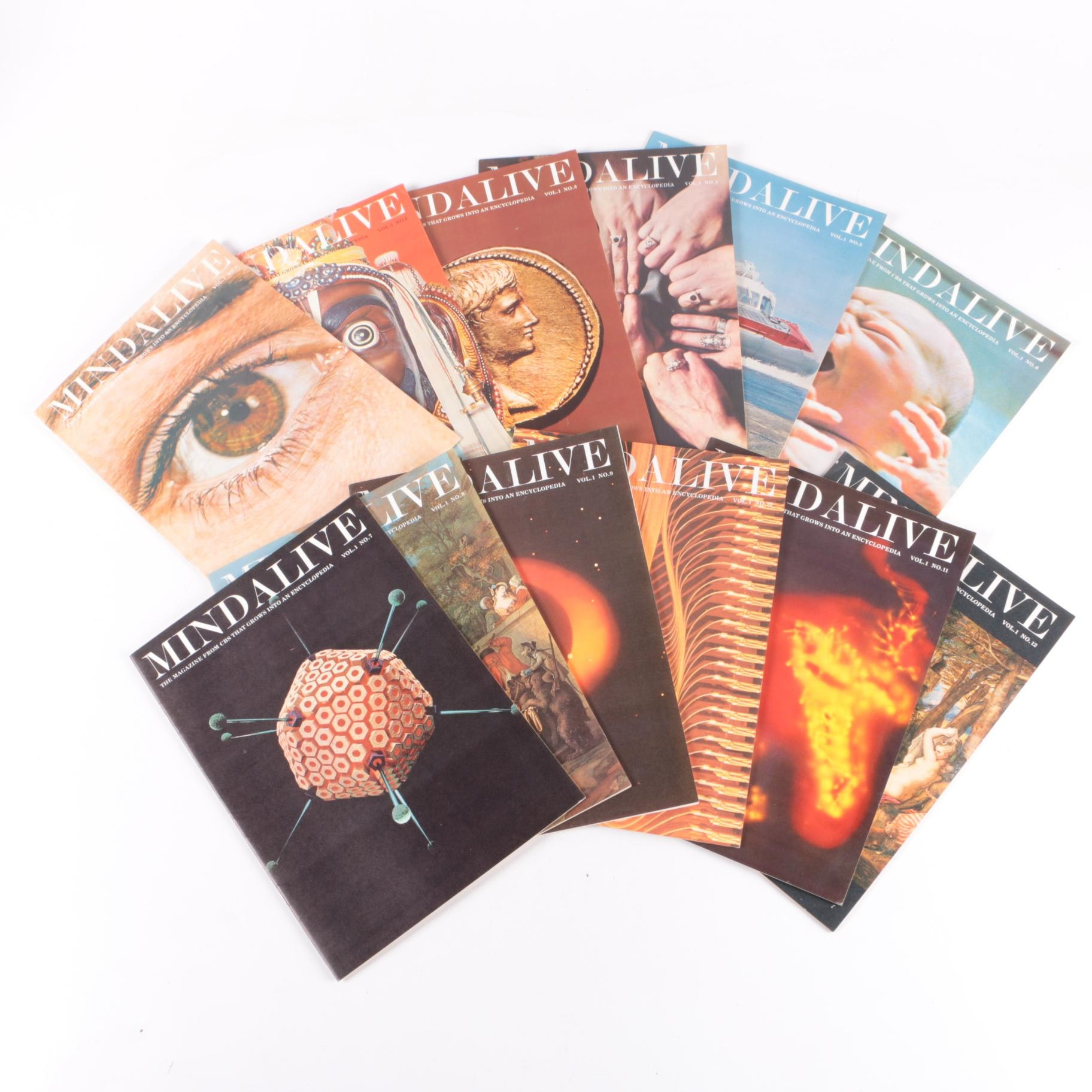 "1960s ""Mind Alive"" Magazines"