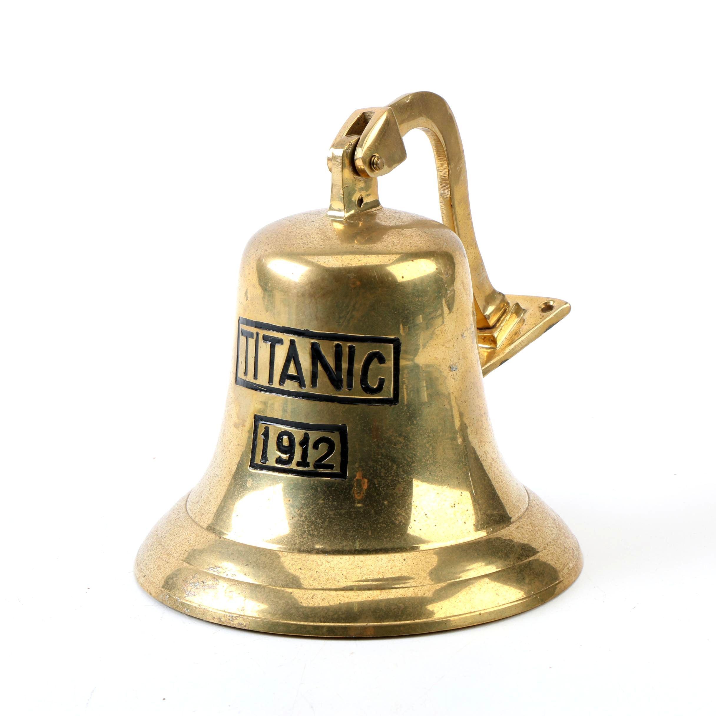 "Vintage Replica ""Titanic 1912"" Brass Bell"