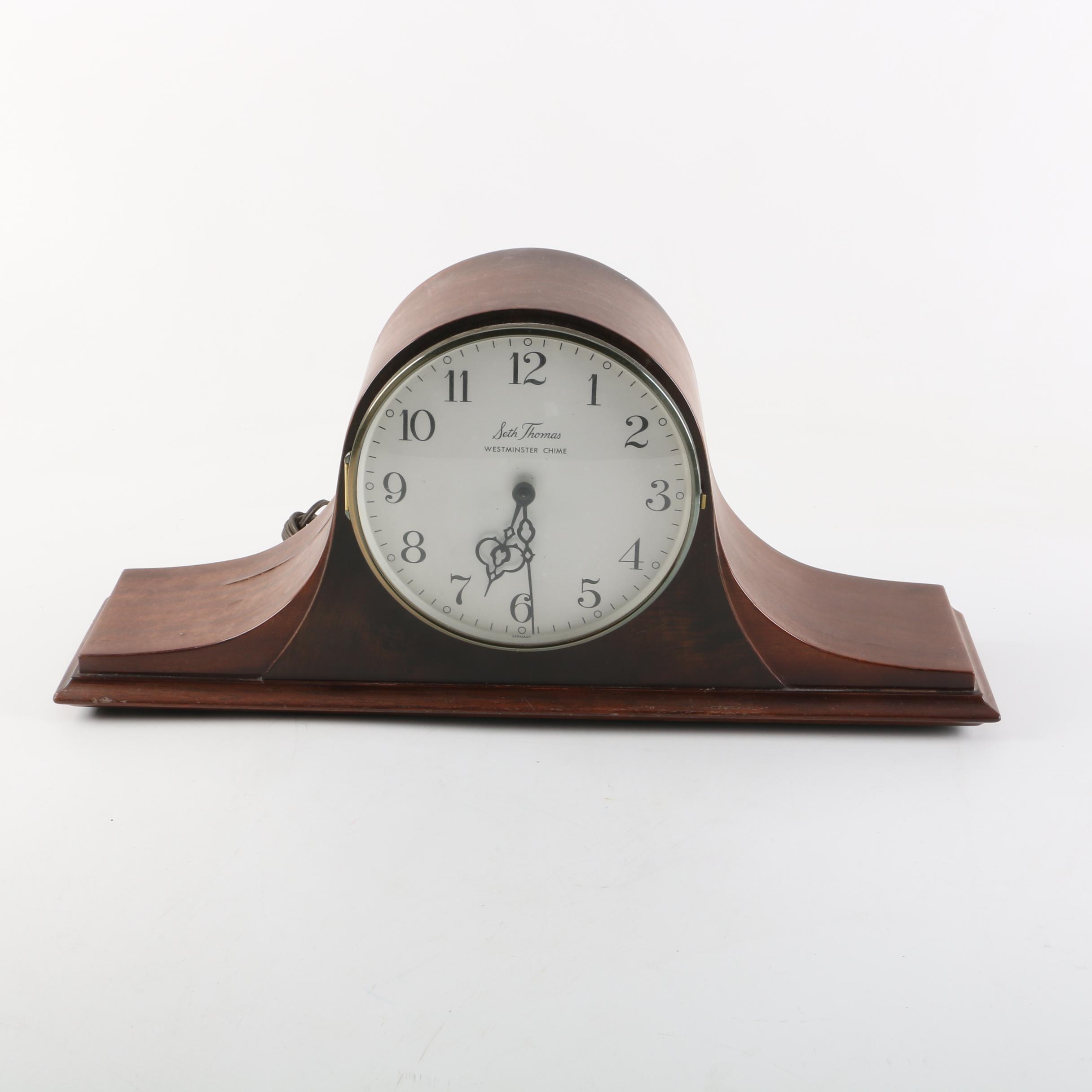 Seth Thomas Westminister Chime Mantel Clock