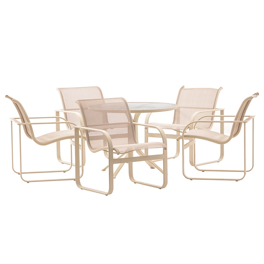 Brown Jordan Patio Table with Chairs