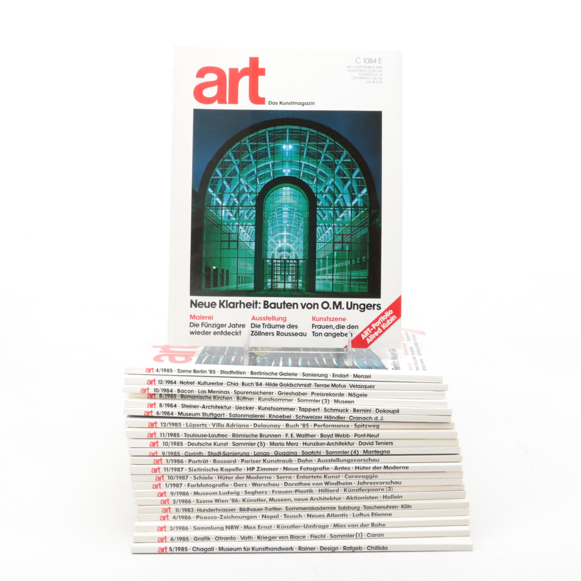 """Art"" Magazines"