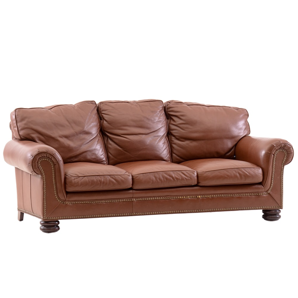 Leather Sofa by Classic Leather