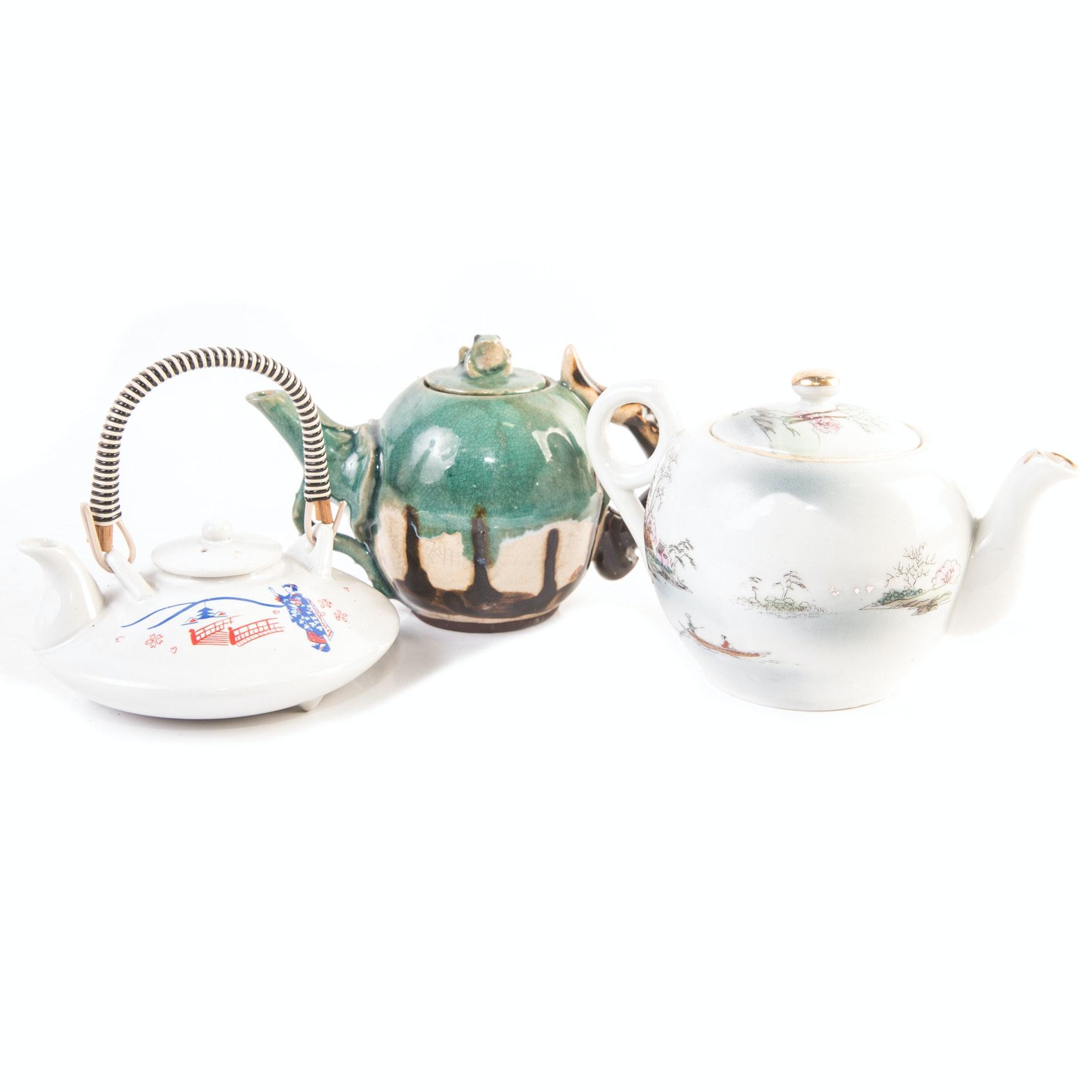 Ceramic Japanese Teapots