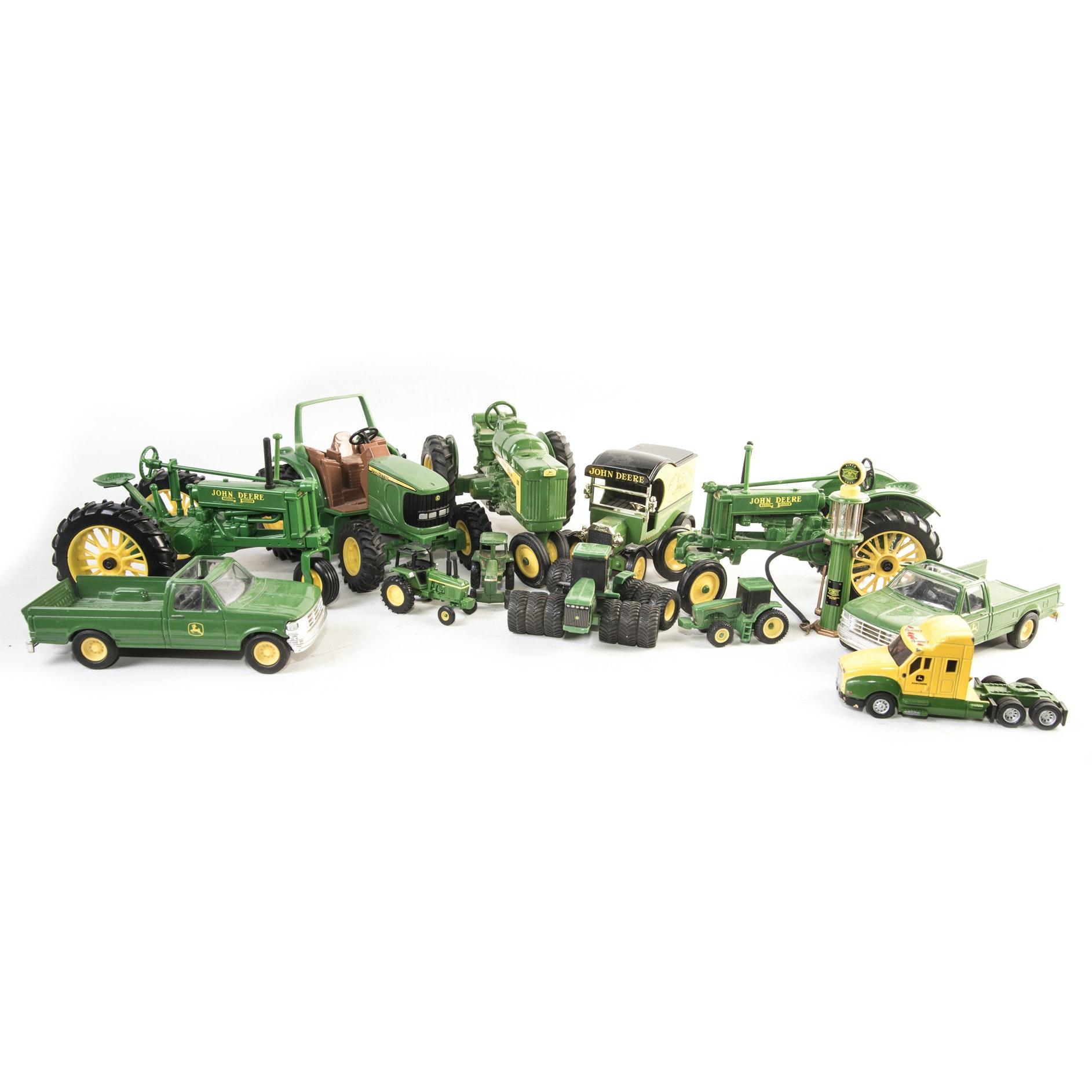 John Deere Toy Tractors and Accessories