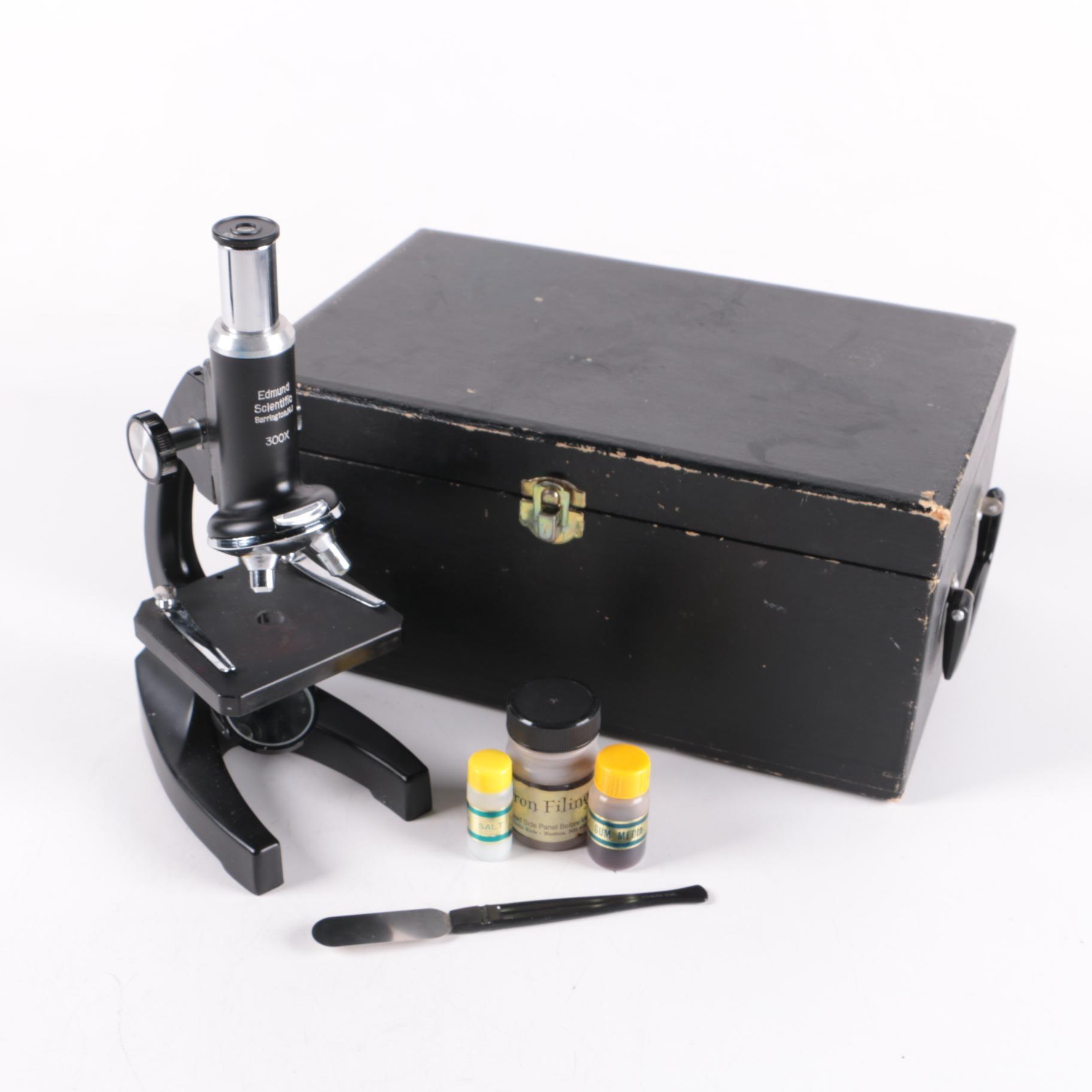Edmund Scientific Monocular Microscope