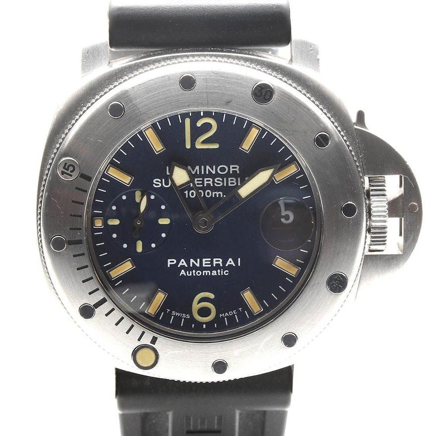 Officine Panerai Firenze 1860 Divers Professional OP 6541 Wristwatch   EBTH 9938f2bc5ddb
