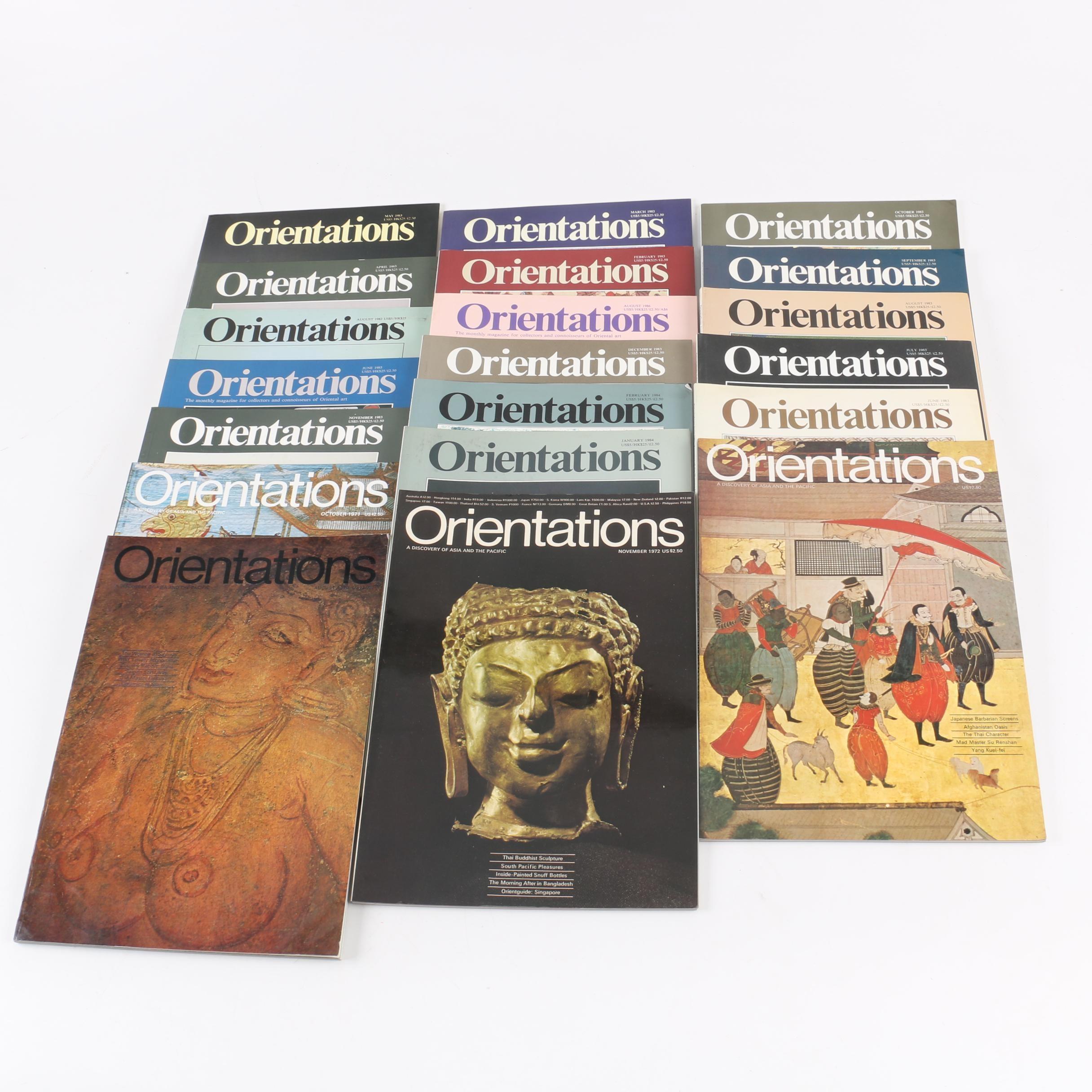 "1971 - 1983 ""Orientations"" Magazines"
