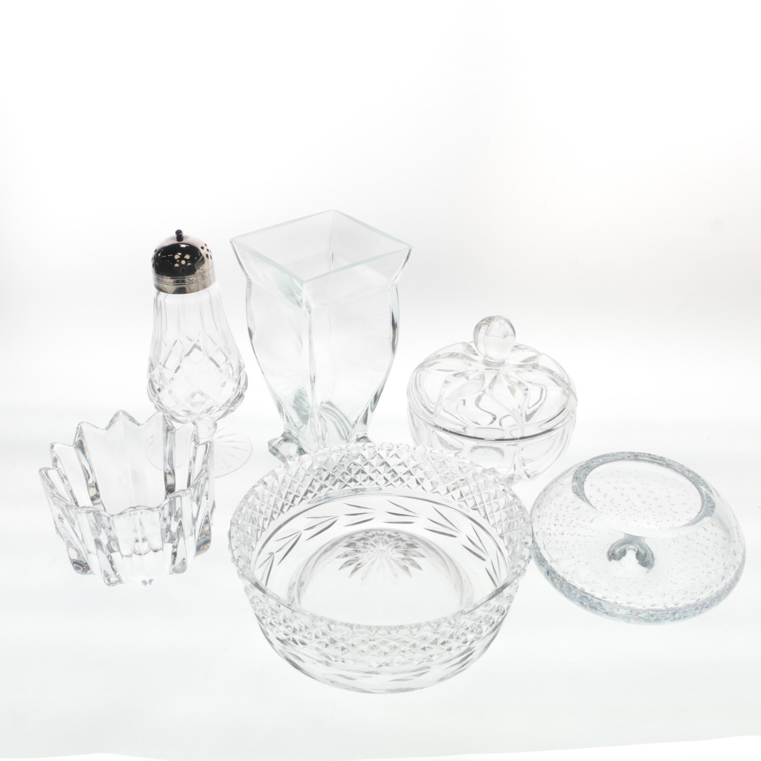 Crystal Serveware and Décor including Orrefors