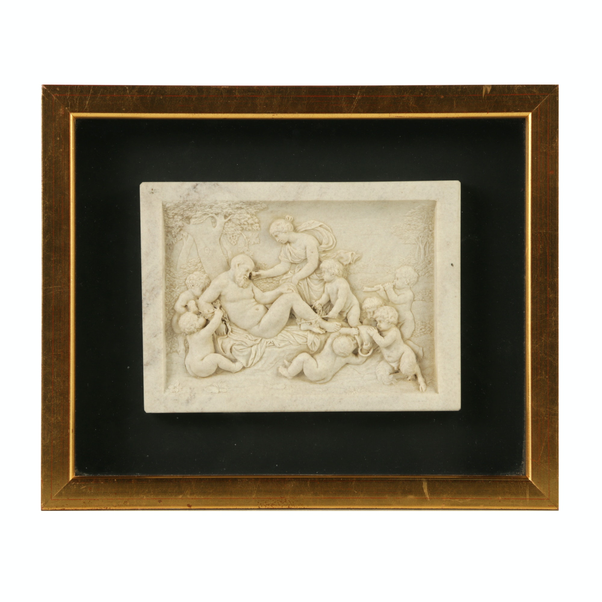 Marble Bas-Relief Carving