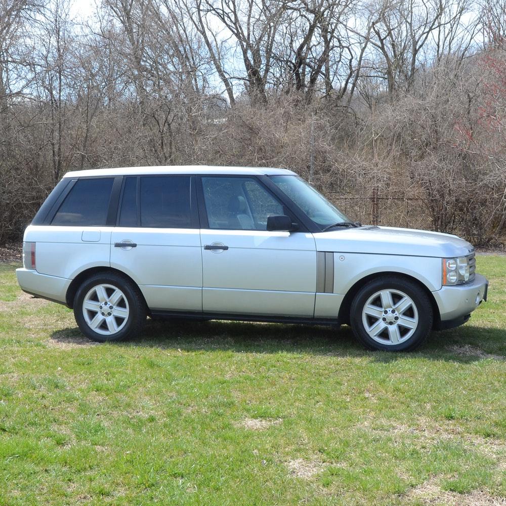 2004 Silver Land Rover Range Rover