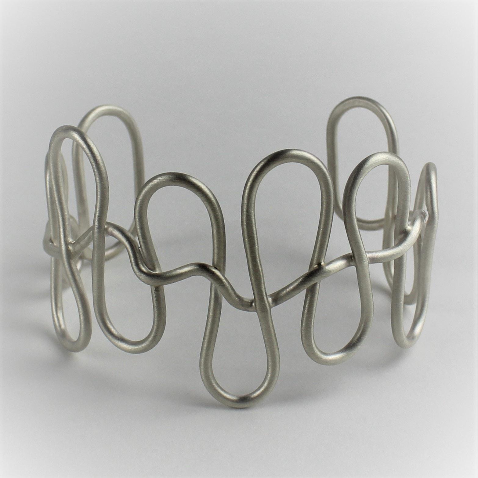 Artist Created Sterling Silver Cuff Bracelet