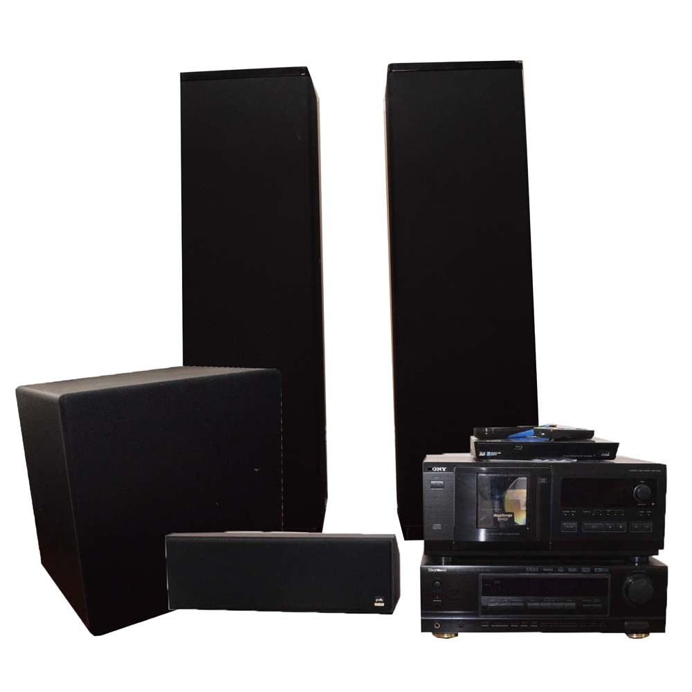 Sony, Polk Audio and Other Stereo Components, Speakers