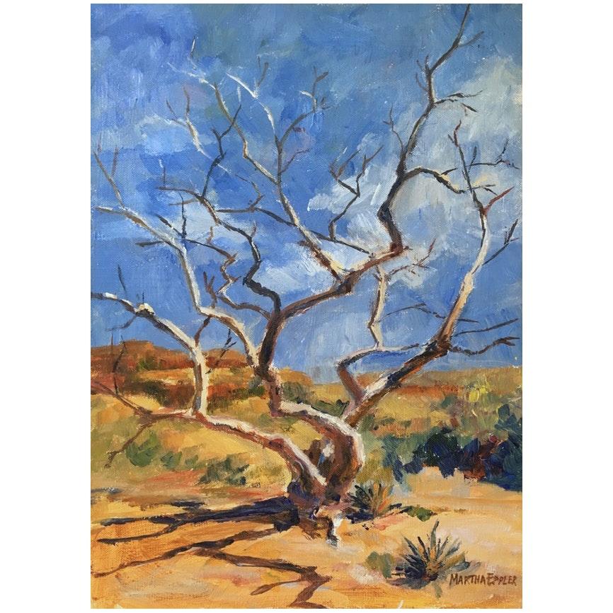 Desert Landscape by Martha Eppler, 1983
