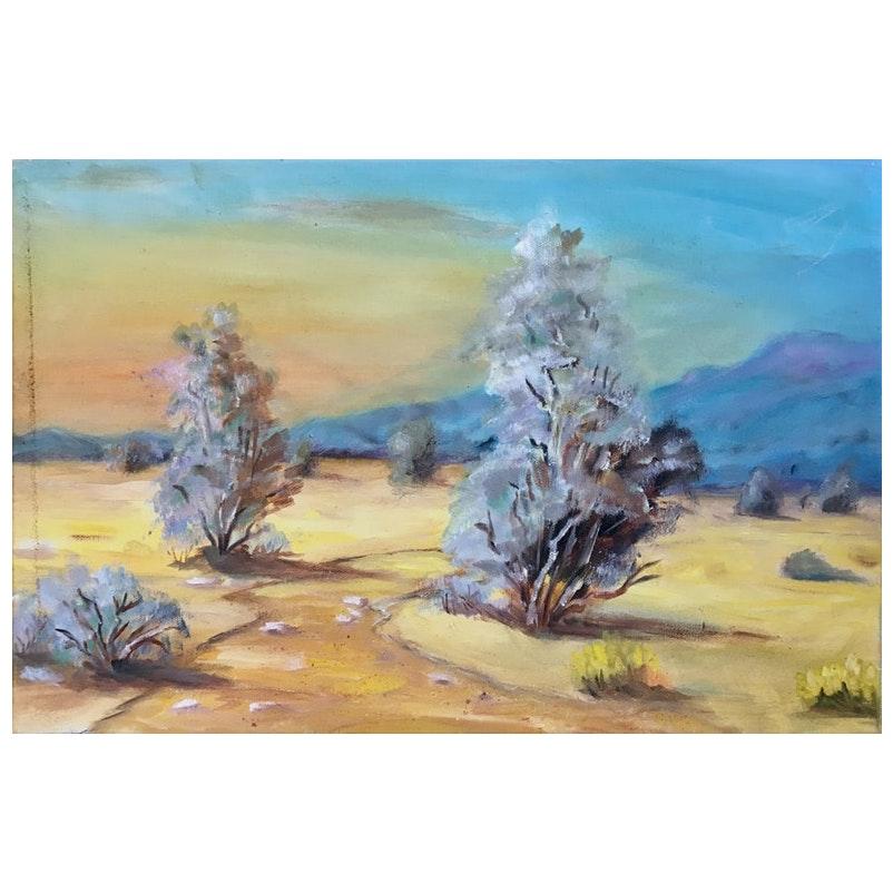 Desert Landscape, 1980's