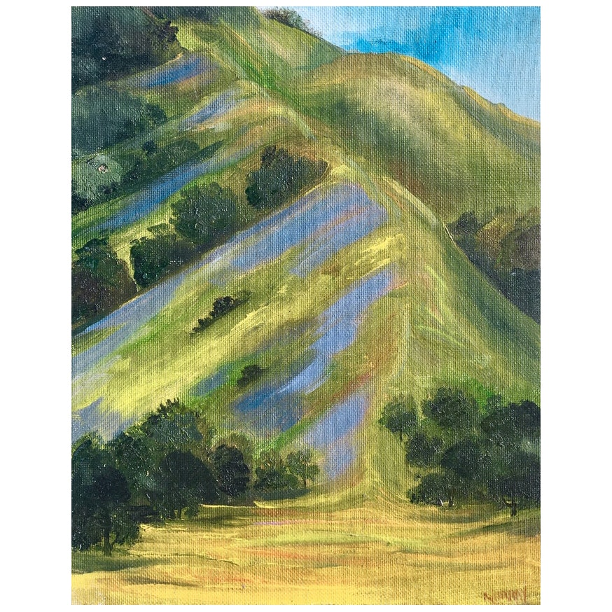 Carmel Valley Landscape by Kathleen Murray, 1990's