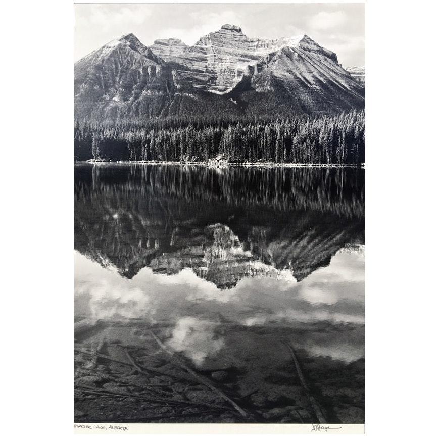Glacier Lake, Alberta, Canada