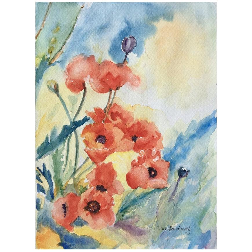 Still Life of Poppies, 2005