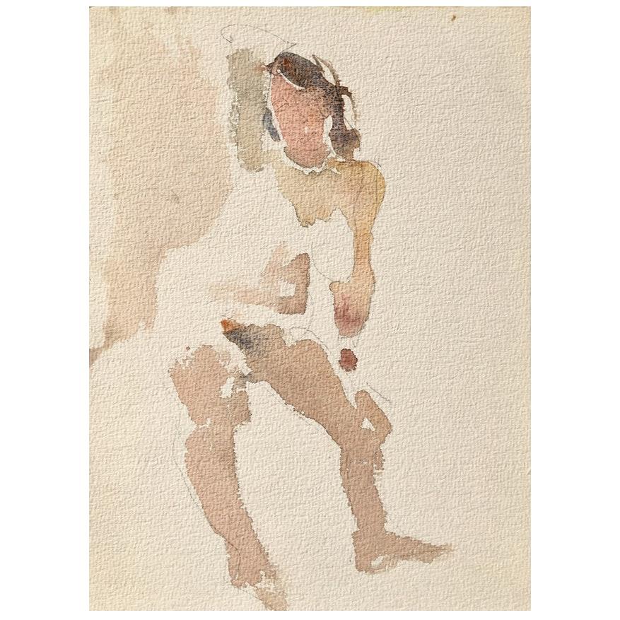 Standing Nude by Victor Di Gesu, 1950's