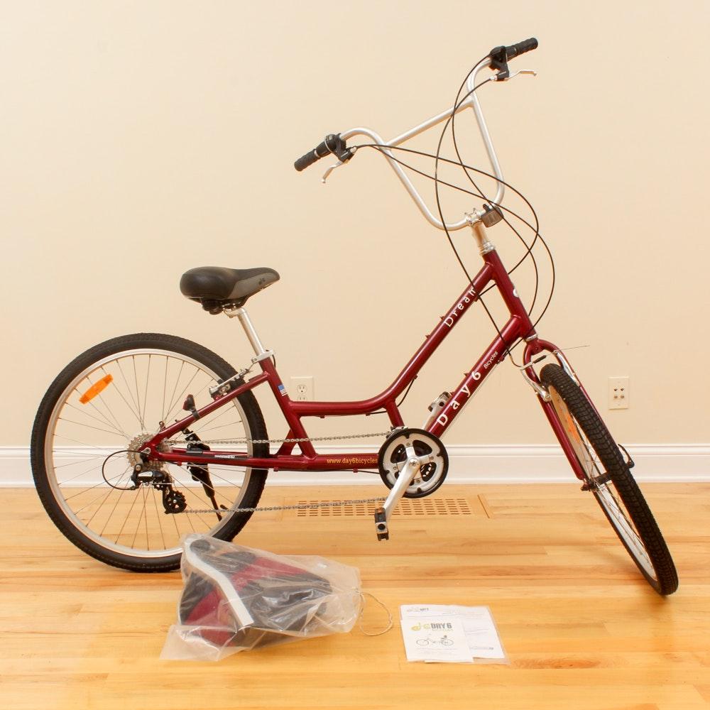 "Day 6 ""Dream"" Semi-Recumbent Bicycle"