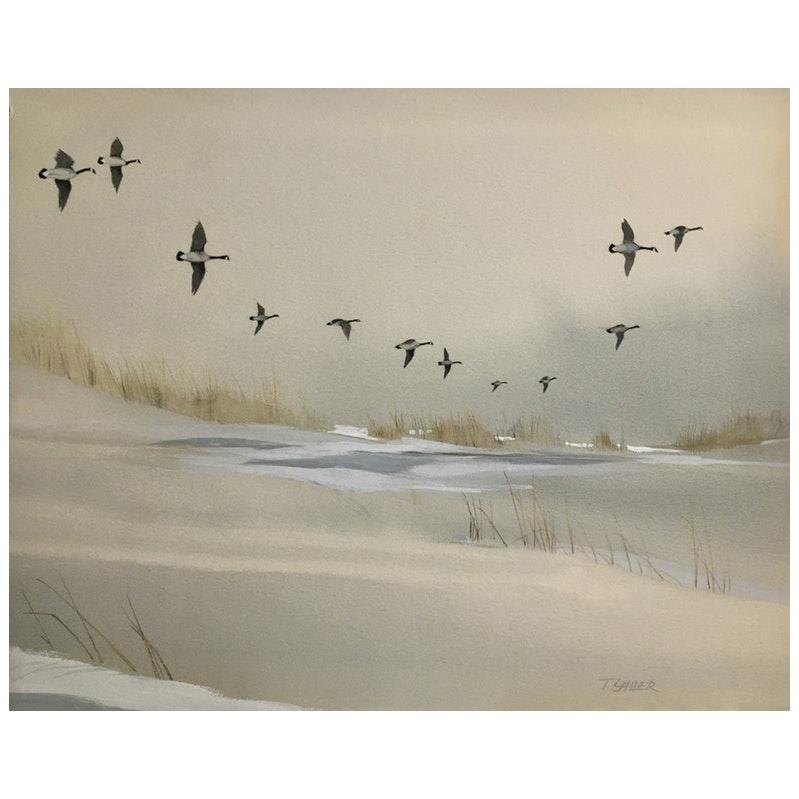 Coastal Dunes by Tom Sander, 1960's
