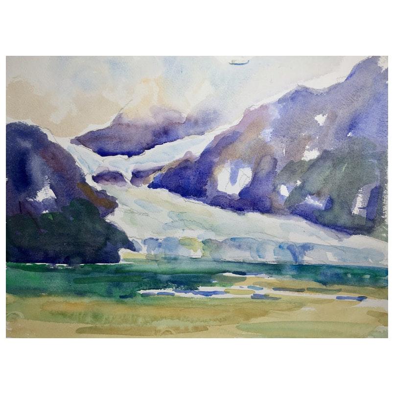 Glacial Landscape by Taki Tu