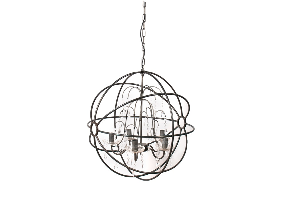 Mid Century Modern Style Orb Hanging Light