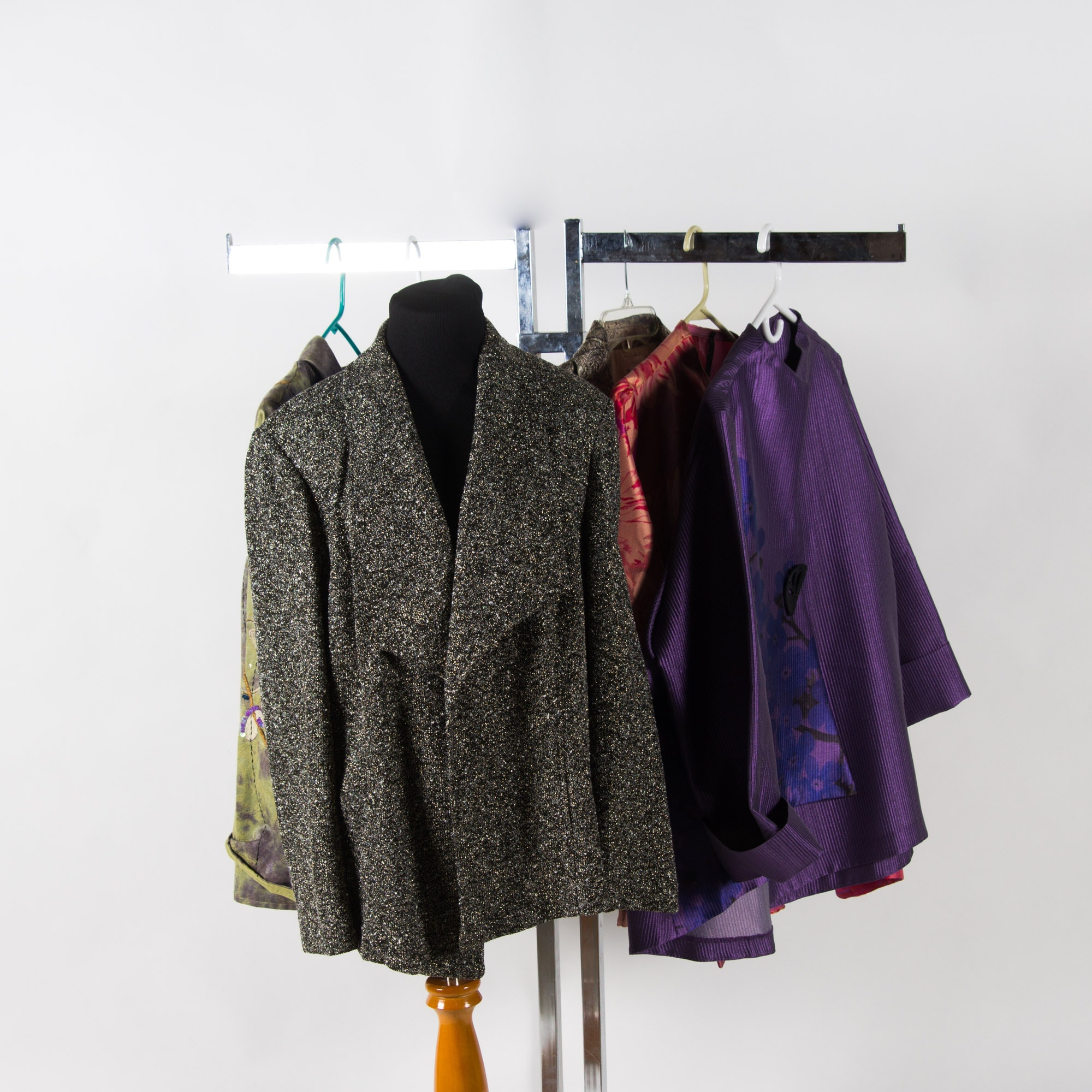 Assortment of Women's Dress Jackets Including Indigo Moon and More