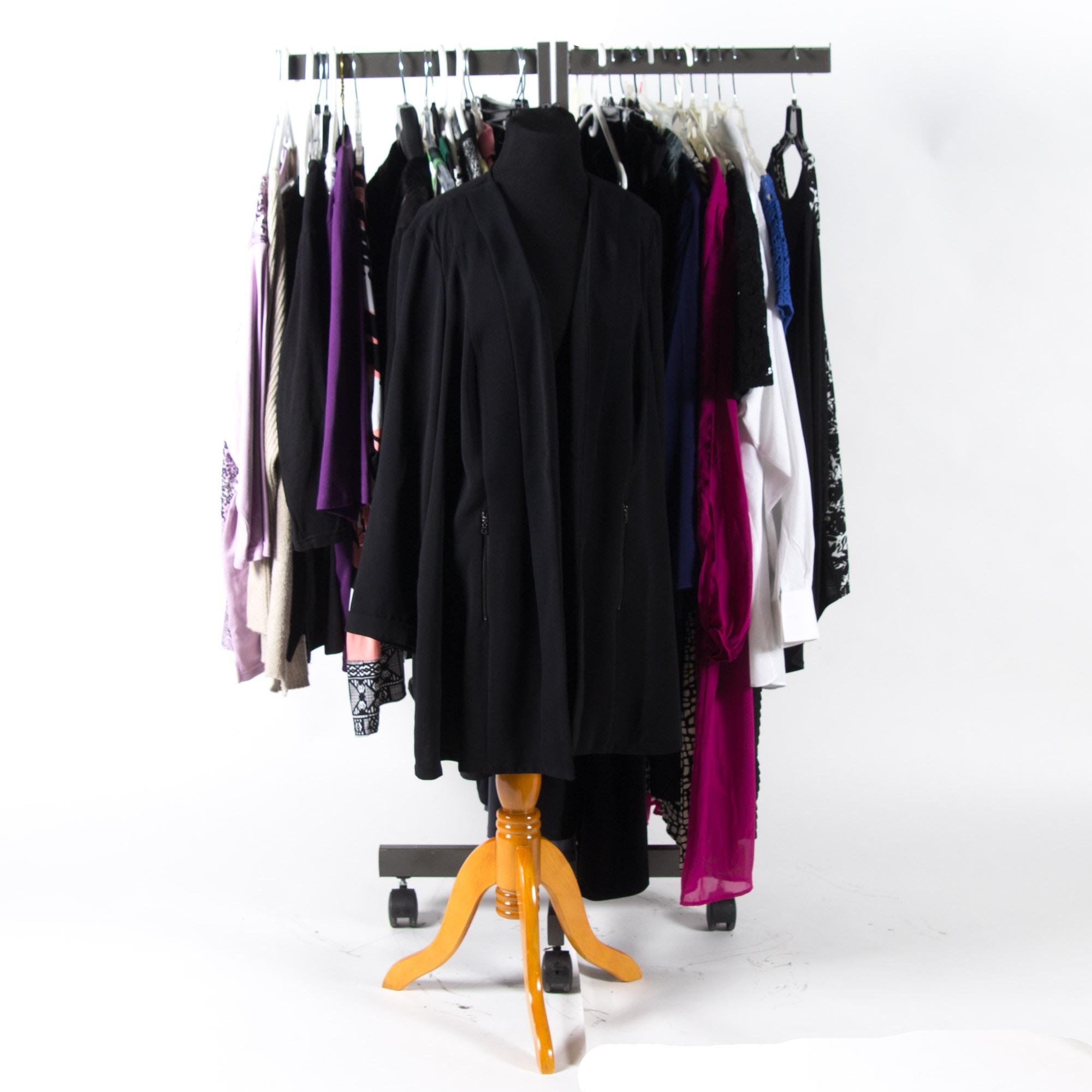 Assortment of Women's Clothing including Alfani and Vikki K