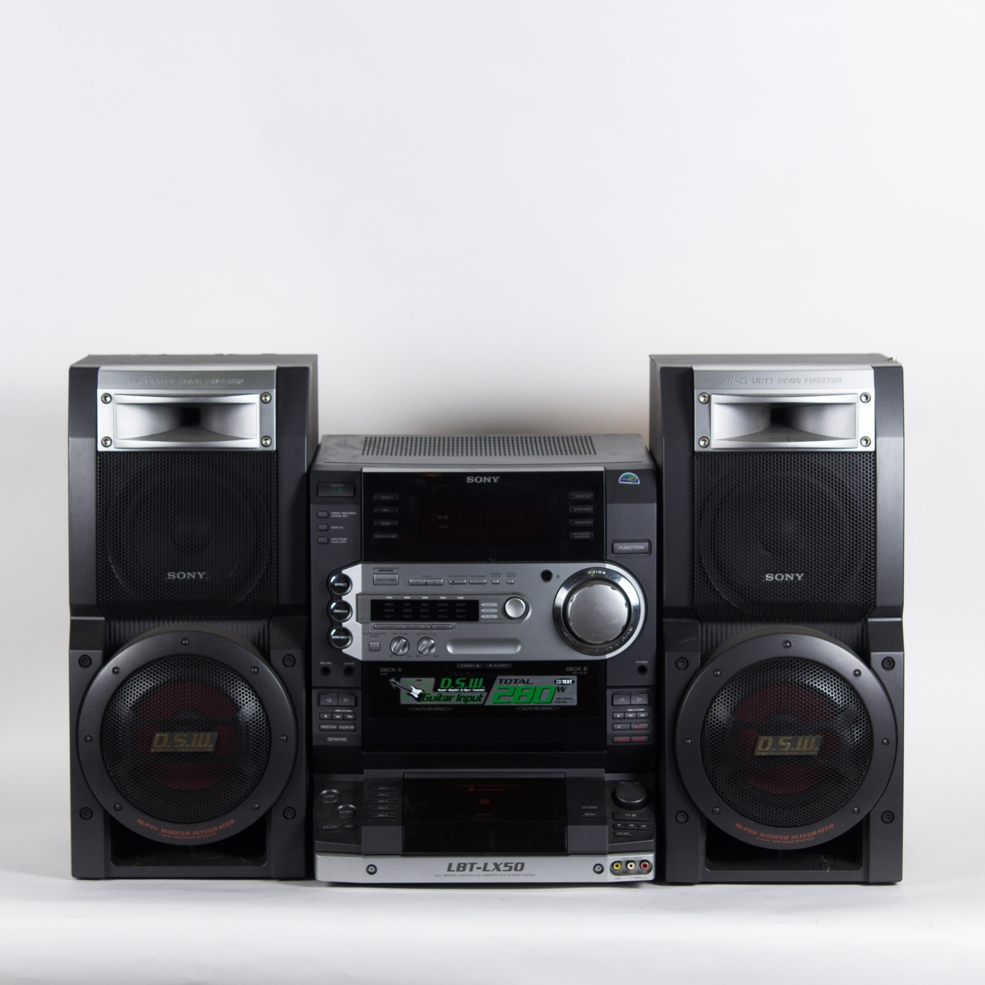 Sony HCD-LX50 with Speakers