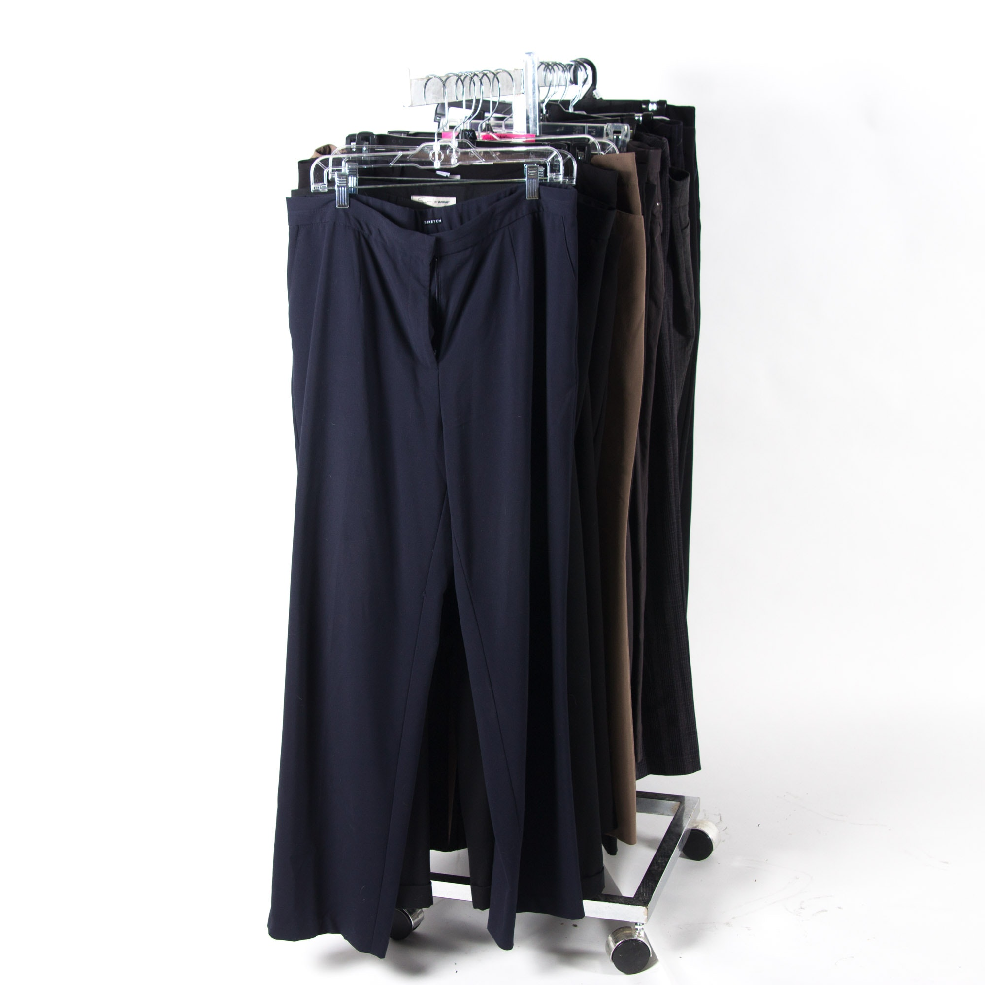 Assortment of Women's Dress Pants Including TravelSmith, Chico's, and More
