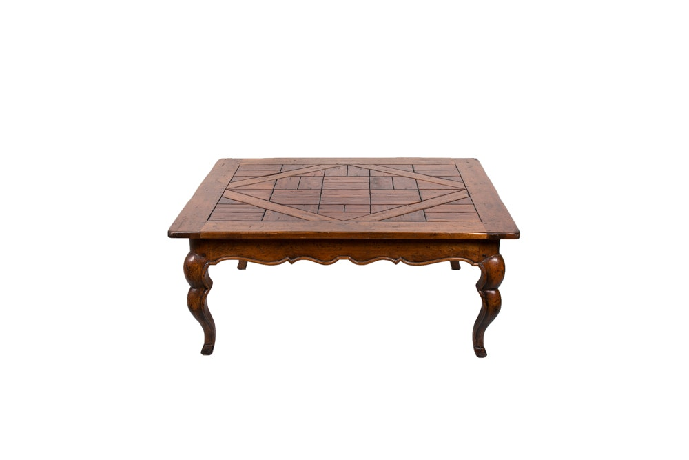 French Provincial Style Coffee Table by Henredon