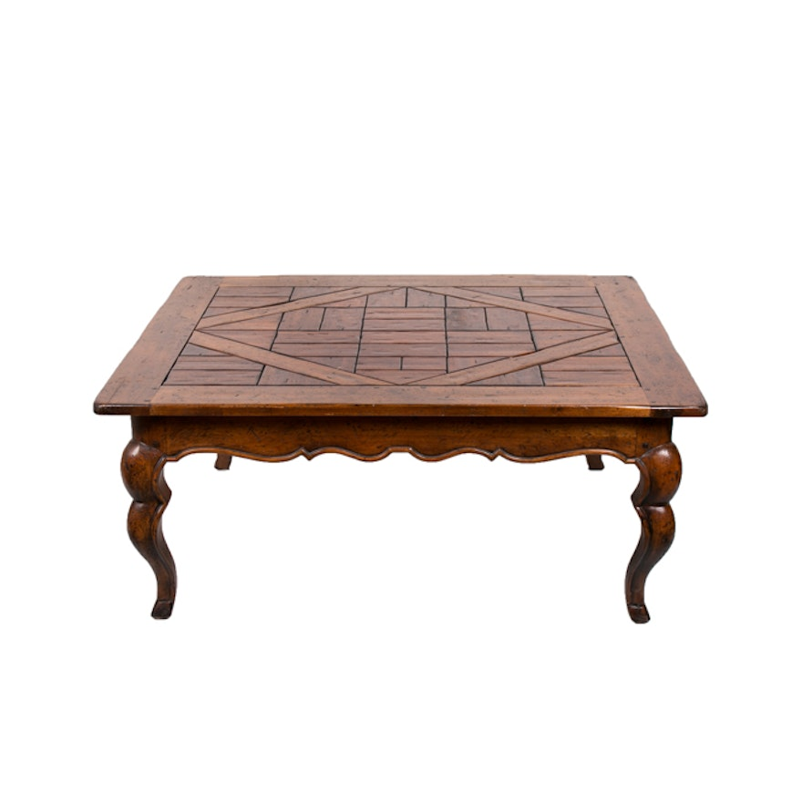 Awesome French Provincial Style Coffee Table By Henredon Short Links Chair Design For Home Short Linksinfo