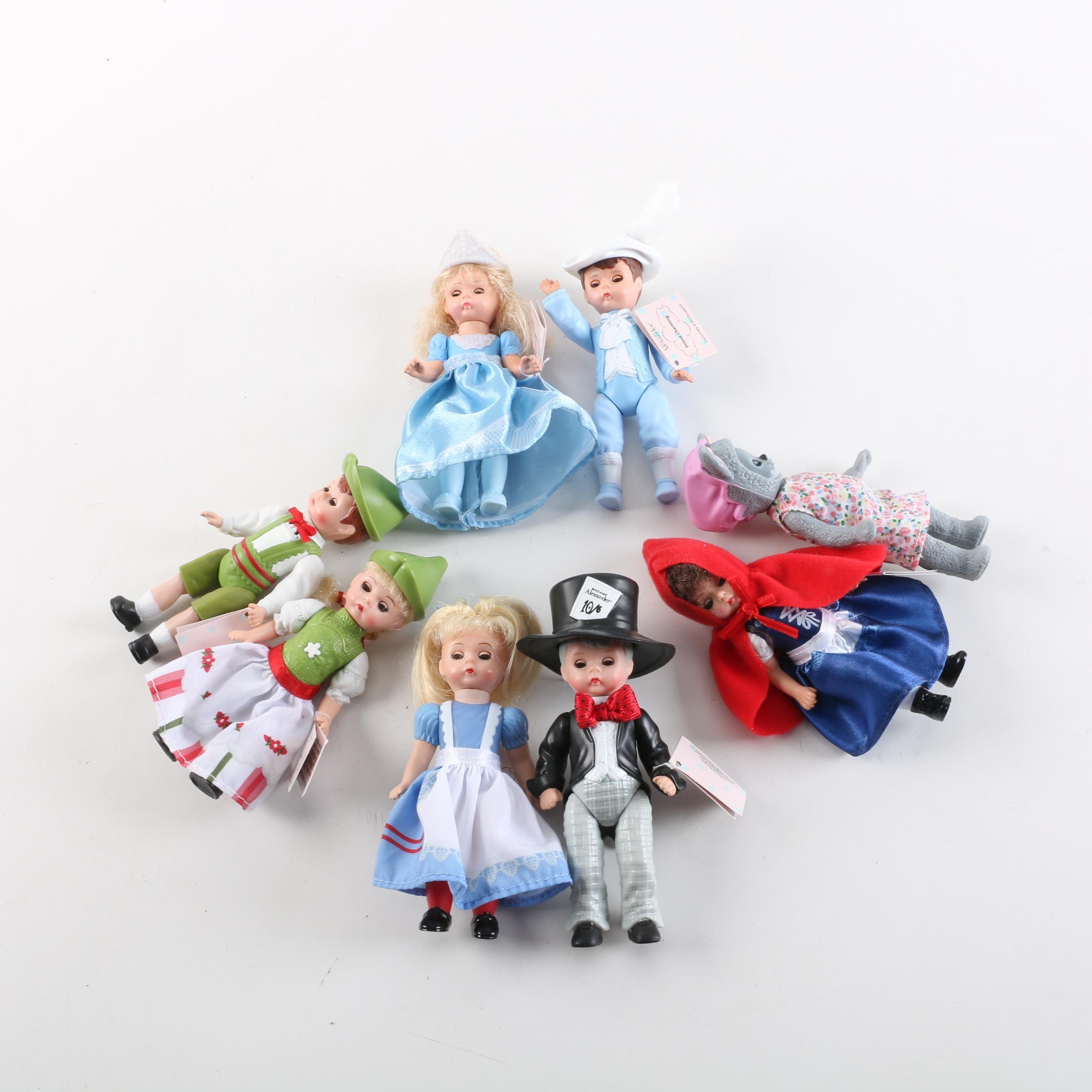 Madame Alexander for McDonald's Miniature Fairy Tale Dolls