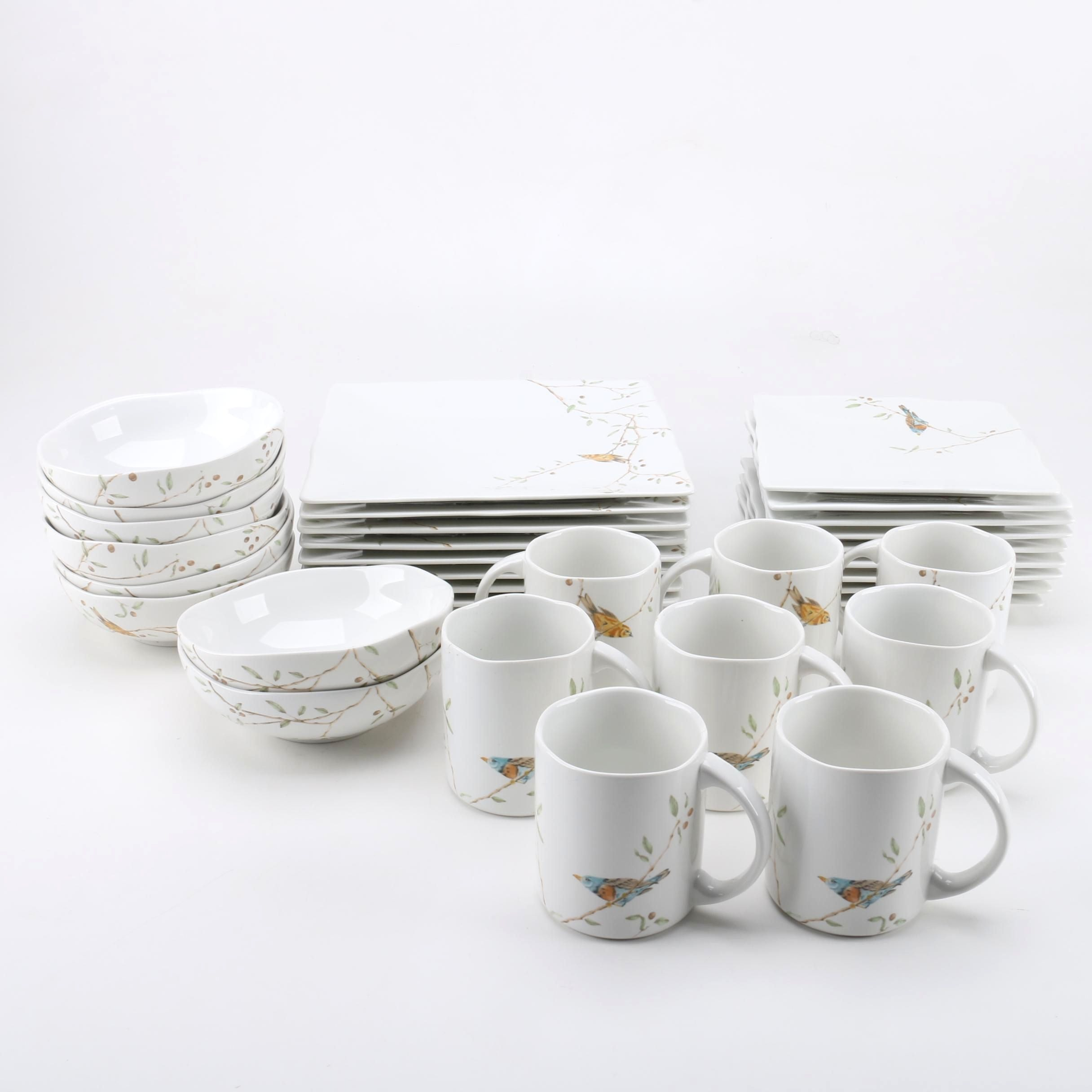 "222 Fifth ""Early Bird"" Ceramic Tableware"