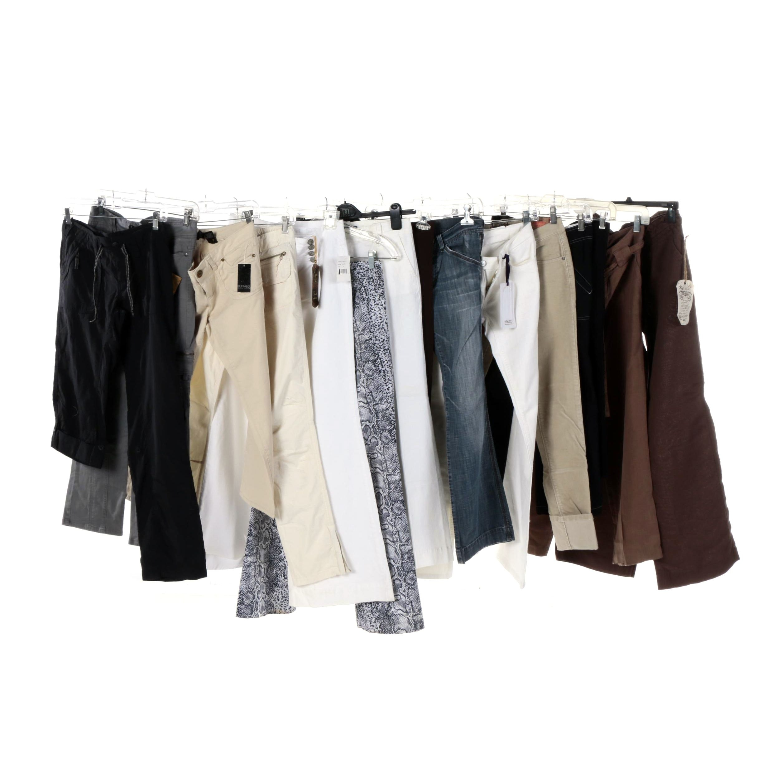 Women's Pants and Jeans Including Diesel, The North Face and Juicy Couture