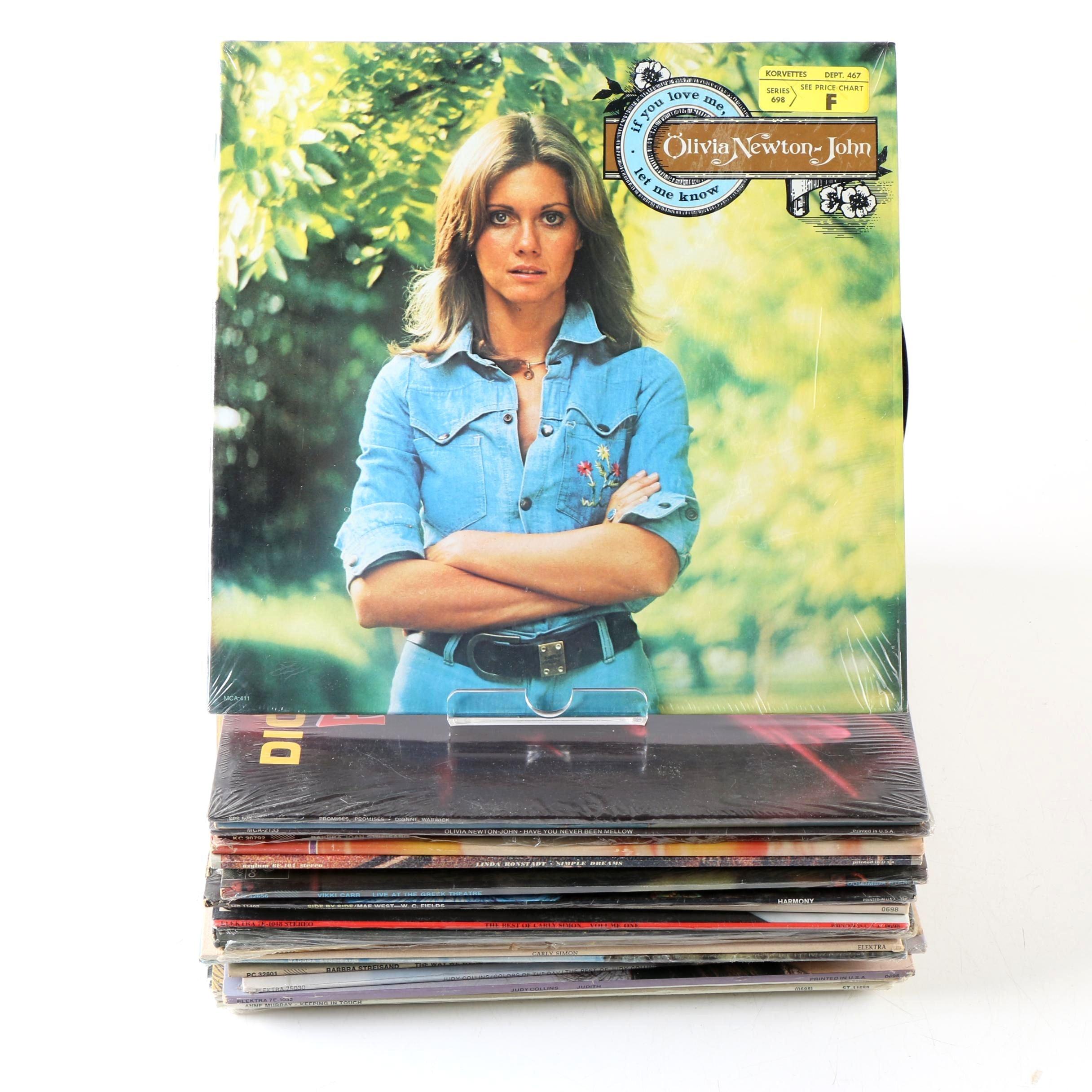 60s - 70s female singer lps