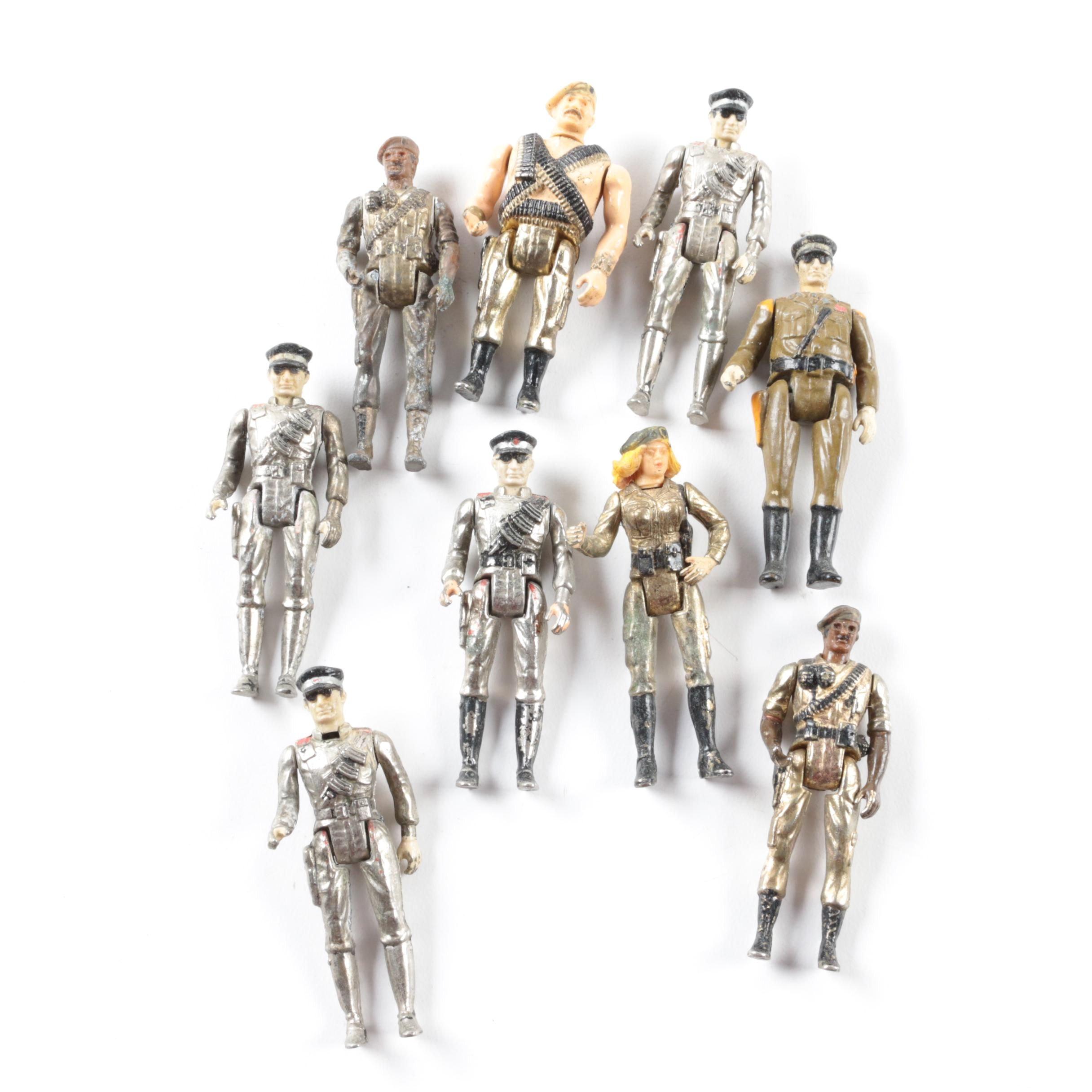"""Mego """"Eagle Force"""" Action Figures"""