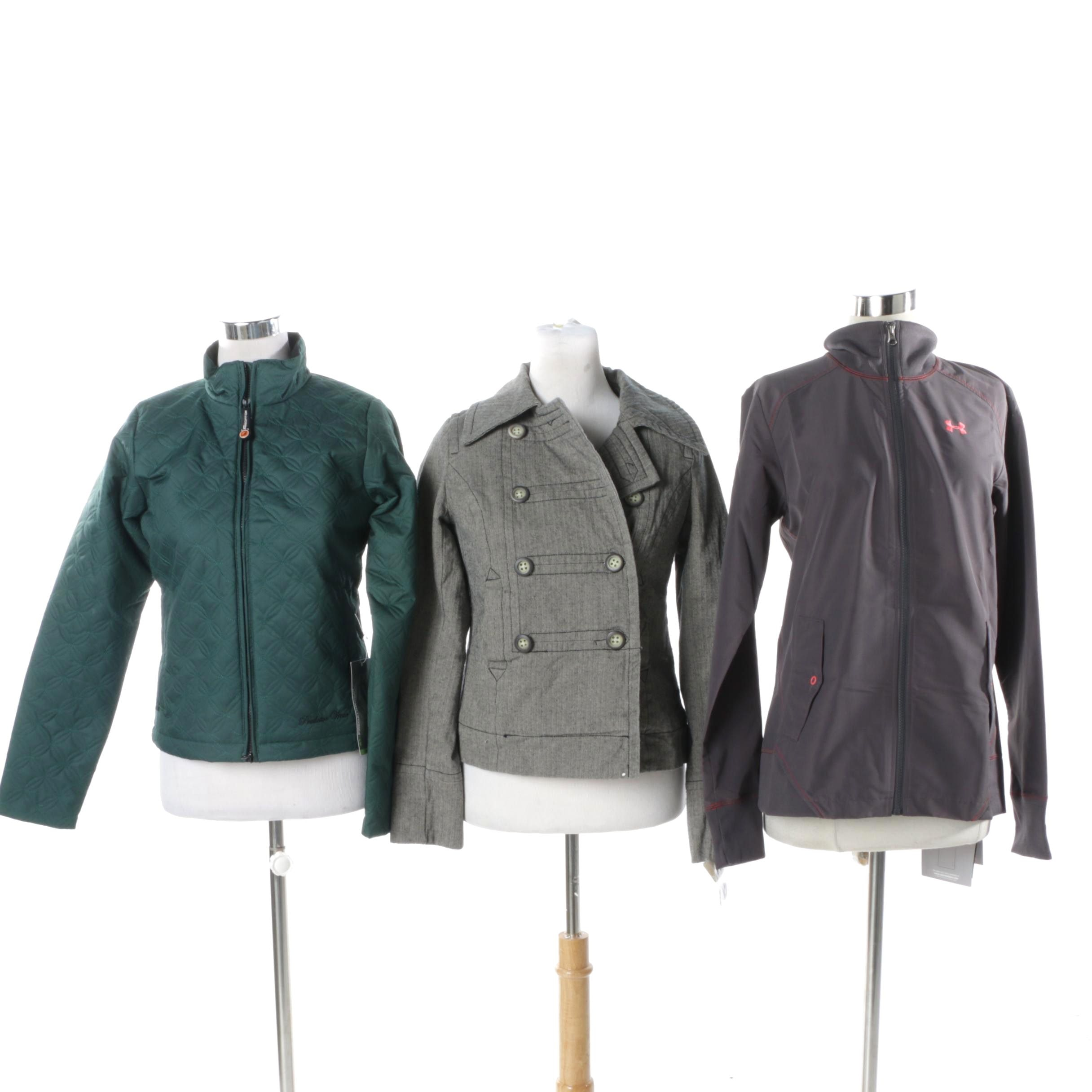 Women's Jackets Including Under Armour and Mossimo Supply Co.