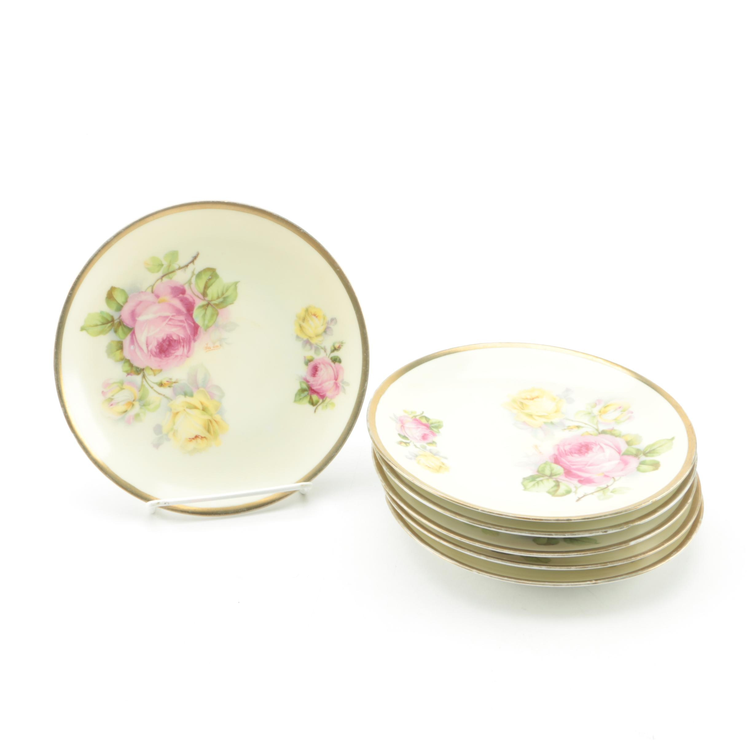 Vintage O. E. & G Royal Austria Porcelain Plates