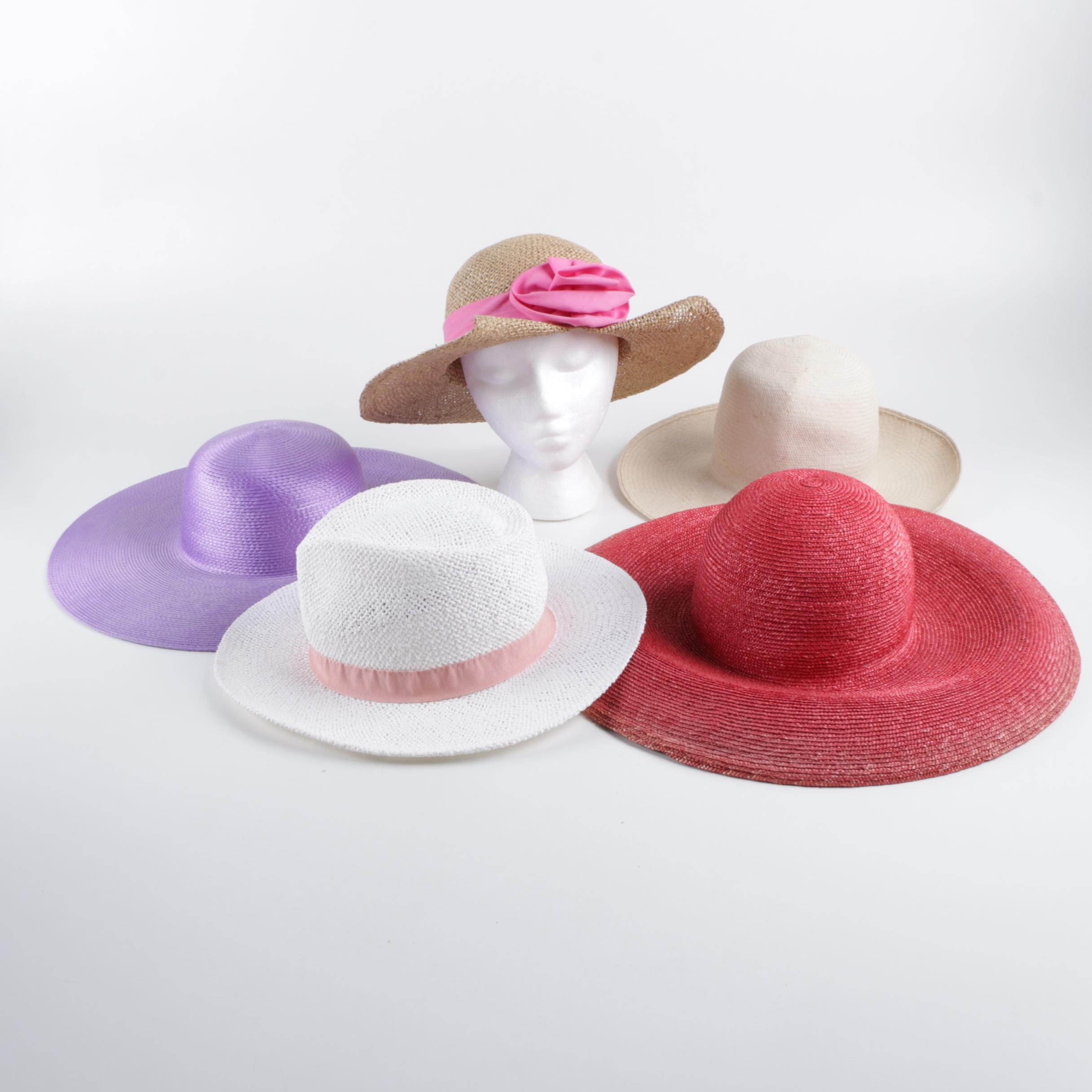 Women's Sun Hats Including Frank Olive