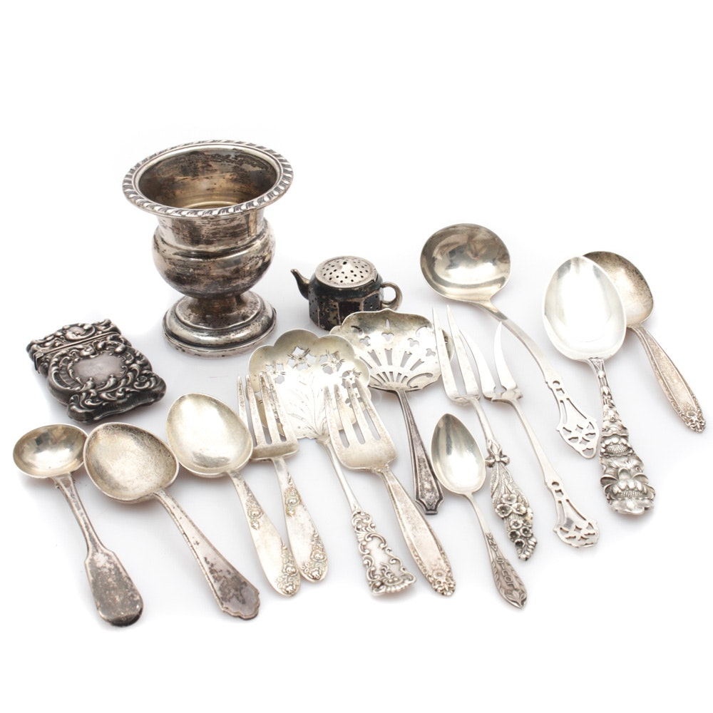 Lunt, Reed & Barton and Other Sterling Silver Flatware and Tableware